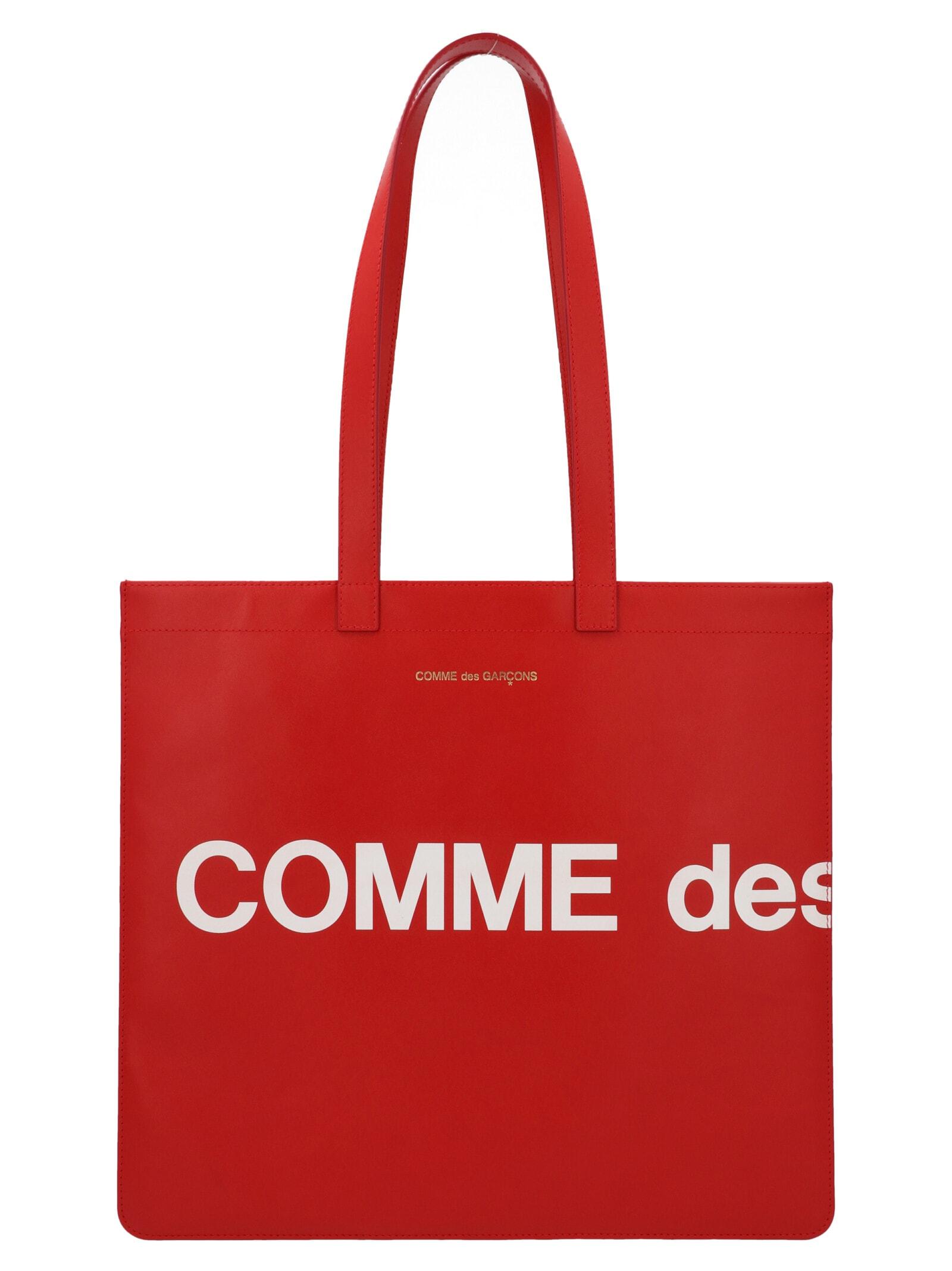 Comme des Garçons Wallet Comme Des Garçons huge Logo Bag