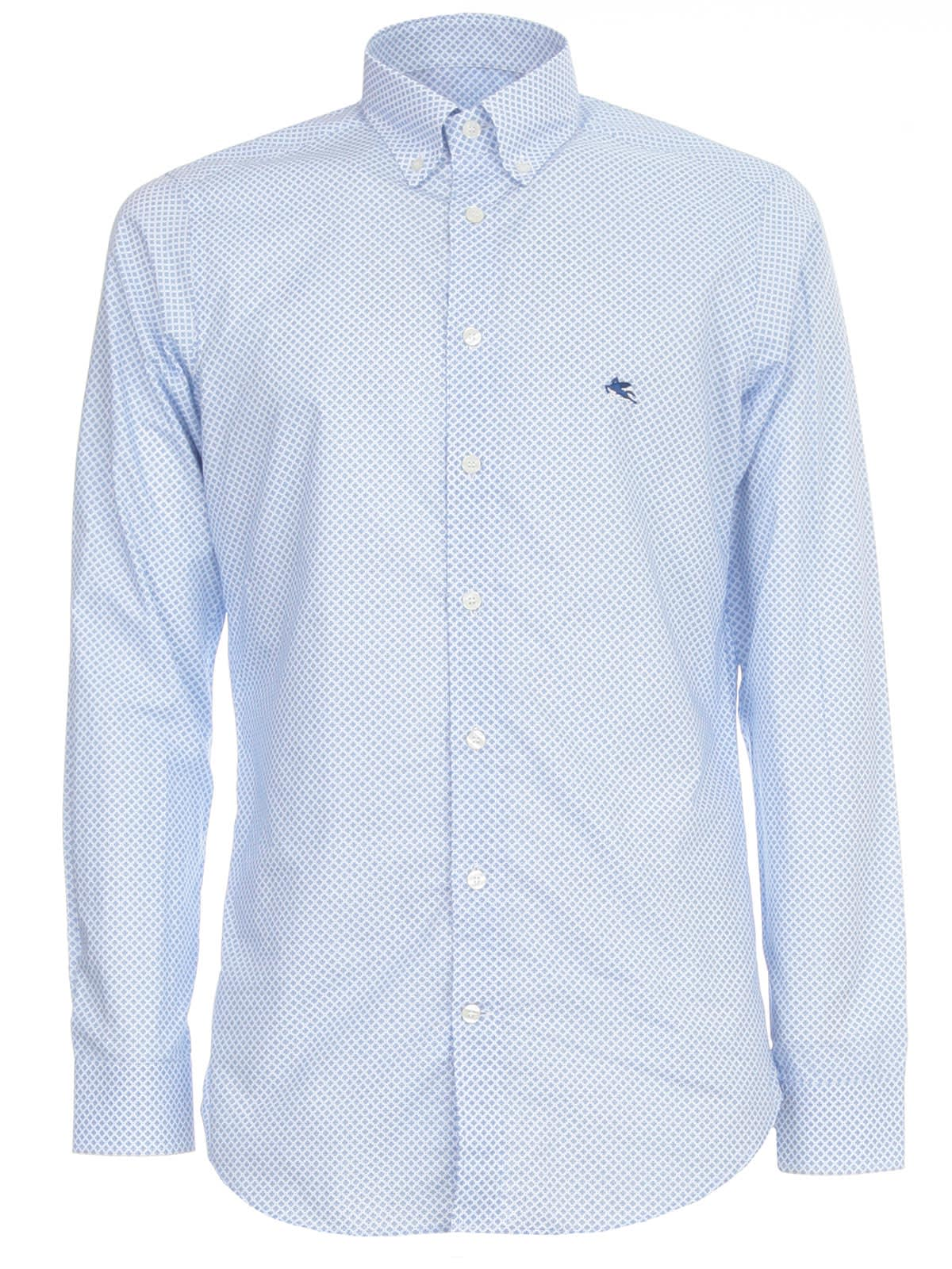 Etro Slim Shirt Botton Down W/logo