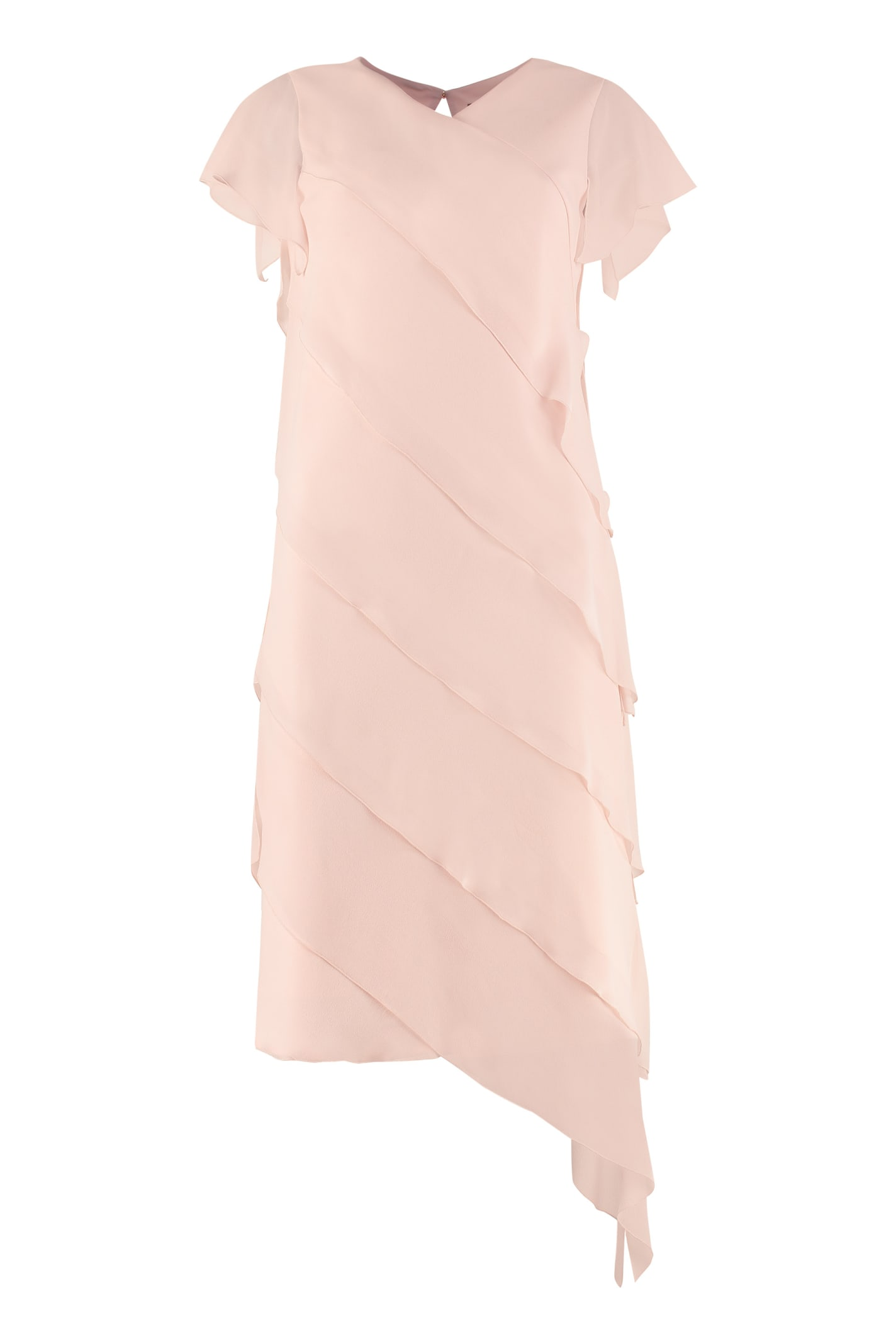 Buy Max Mara Bamby Georgette Dress online, shop Max Mara with free shipping
