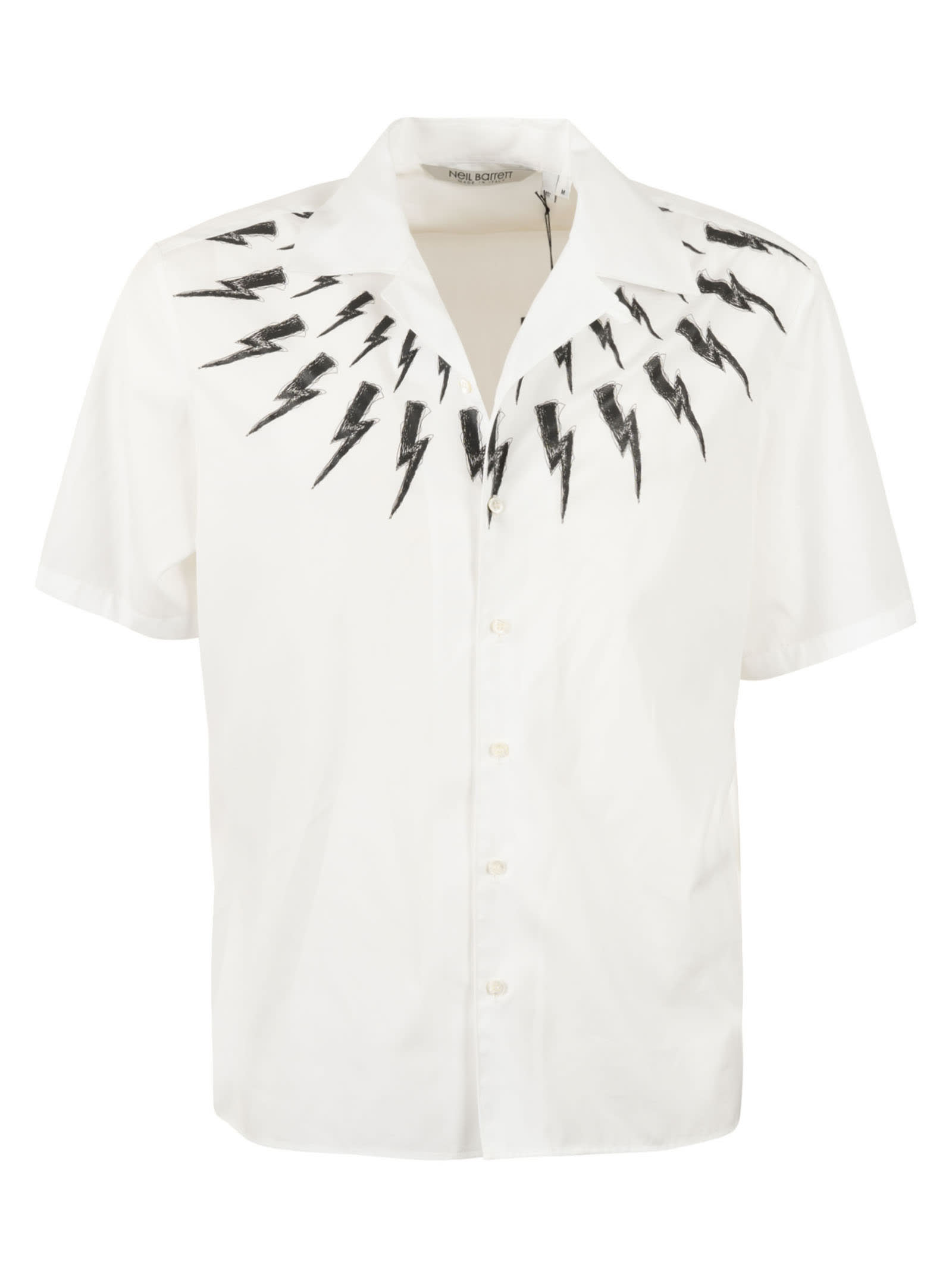 Neil Barrett Shirts THUNDERBOLT SHIRT