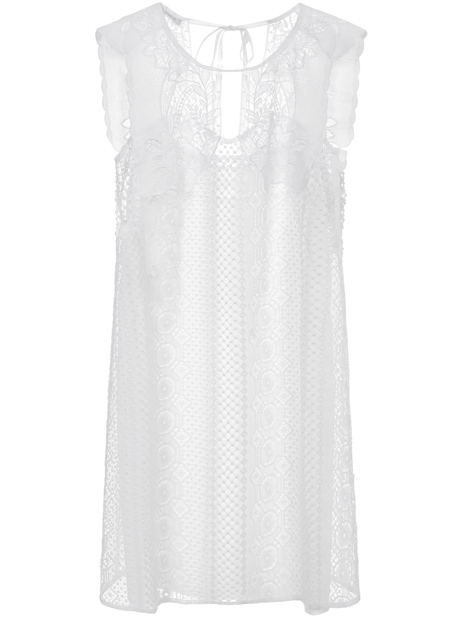 Buy Alberta Ferretti Mini Dress online, shop Alberta Ferretti with free shipping
