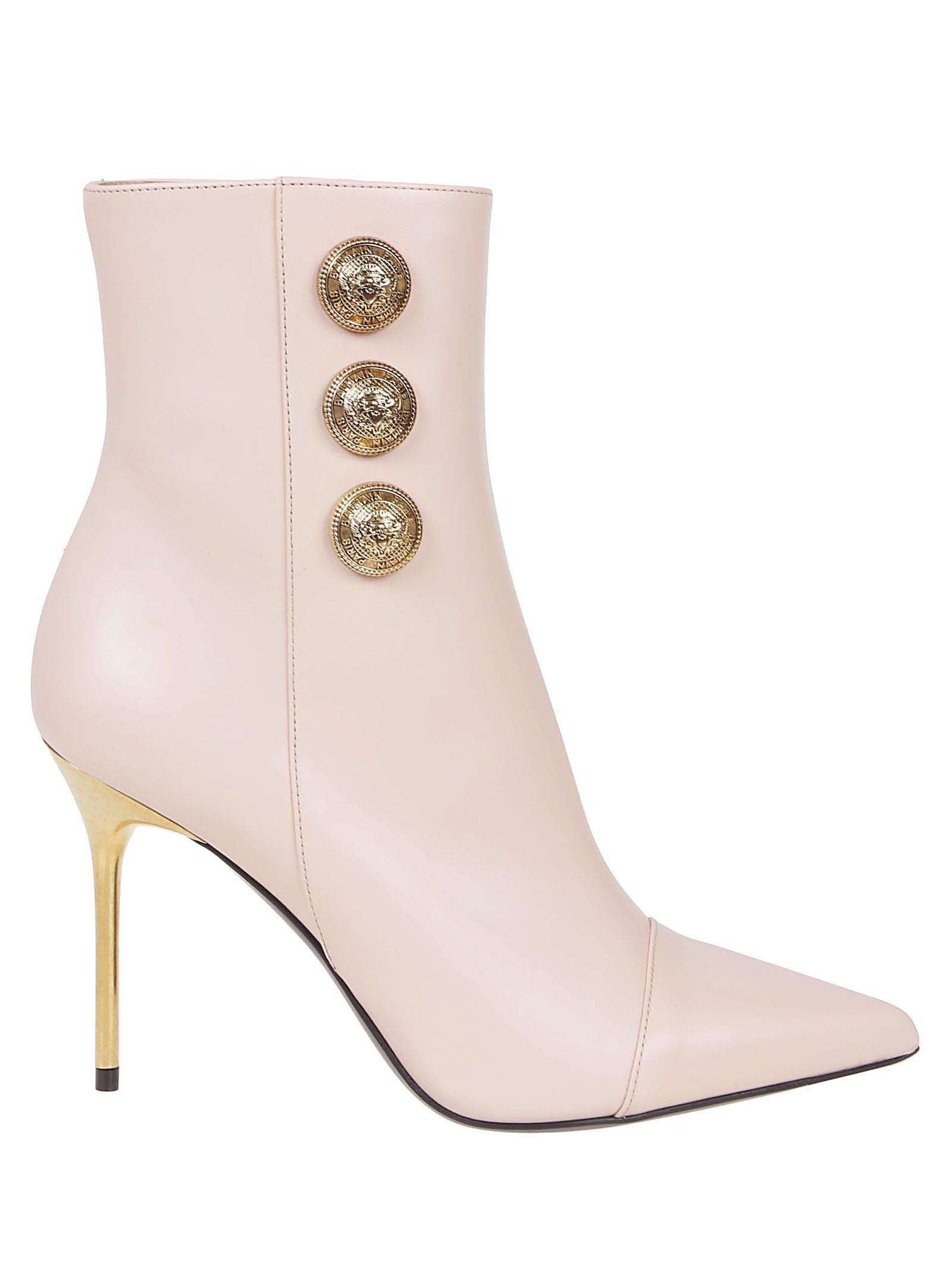 Buy Balmain Boot Roni-calfskin online, shop Balmain shoes with free shipping