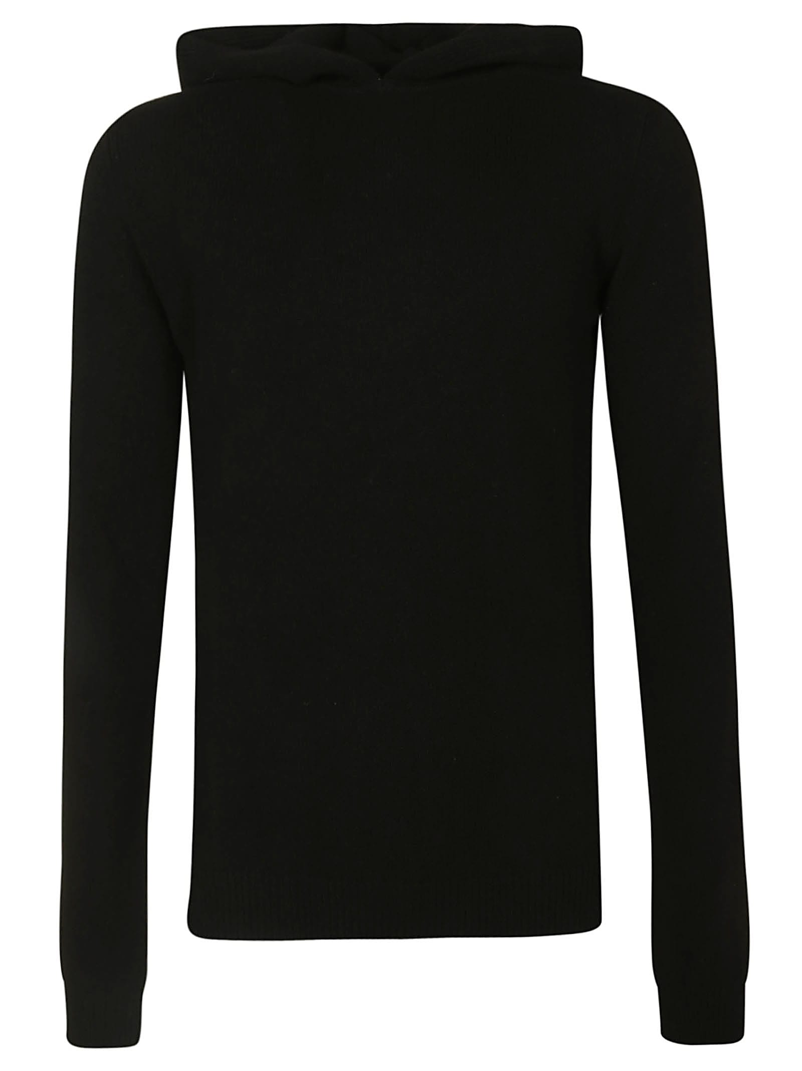 Rick Owens Classic Fitted Hoodie