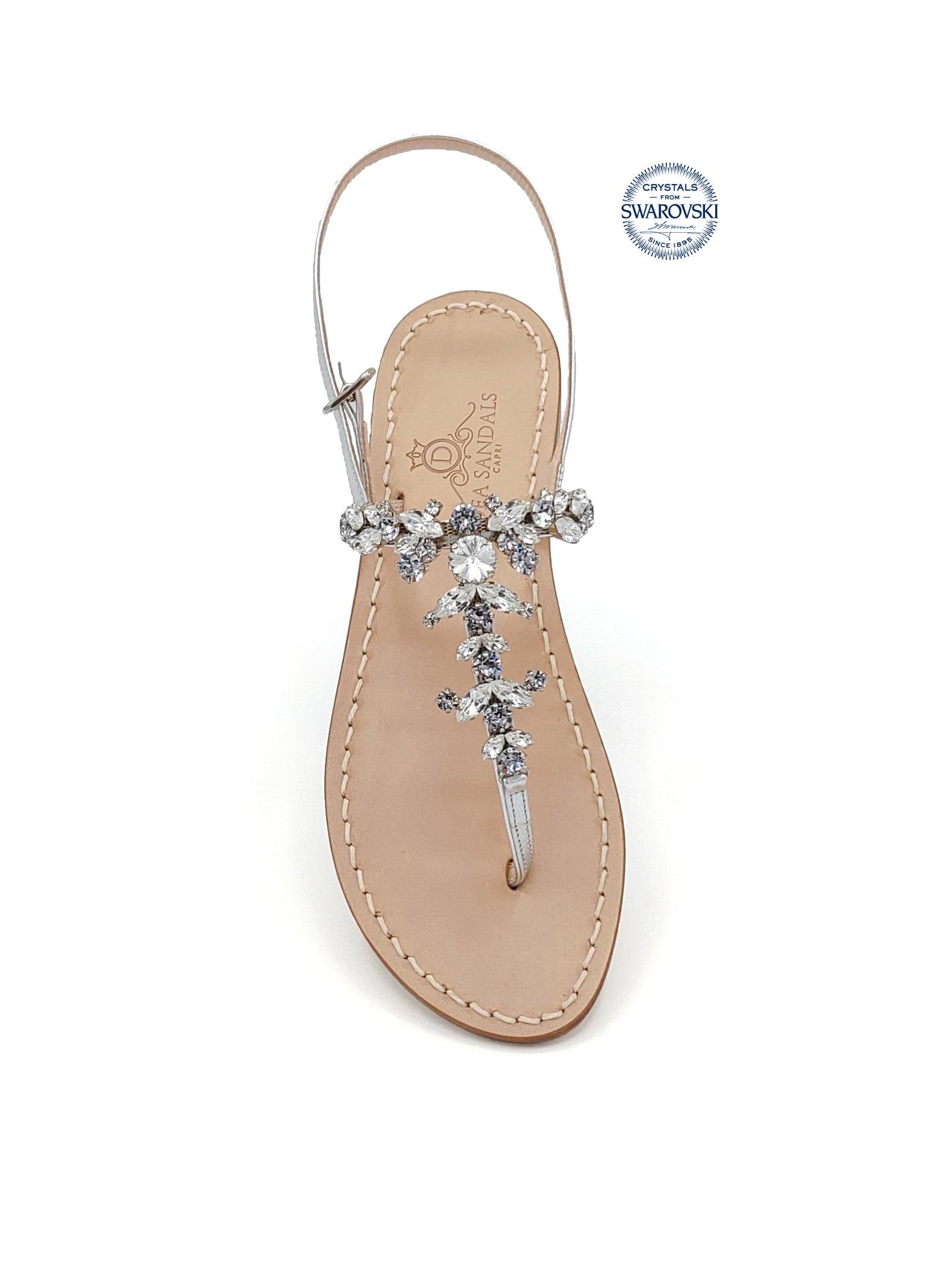 Scopolo Jewel Thong Sandals