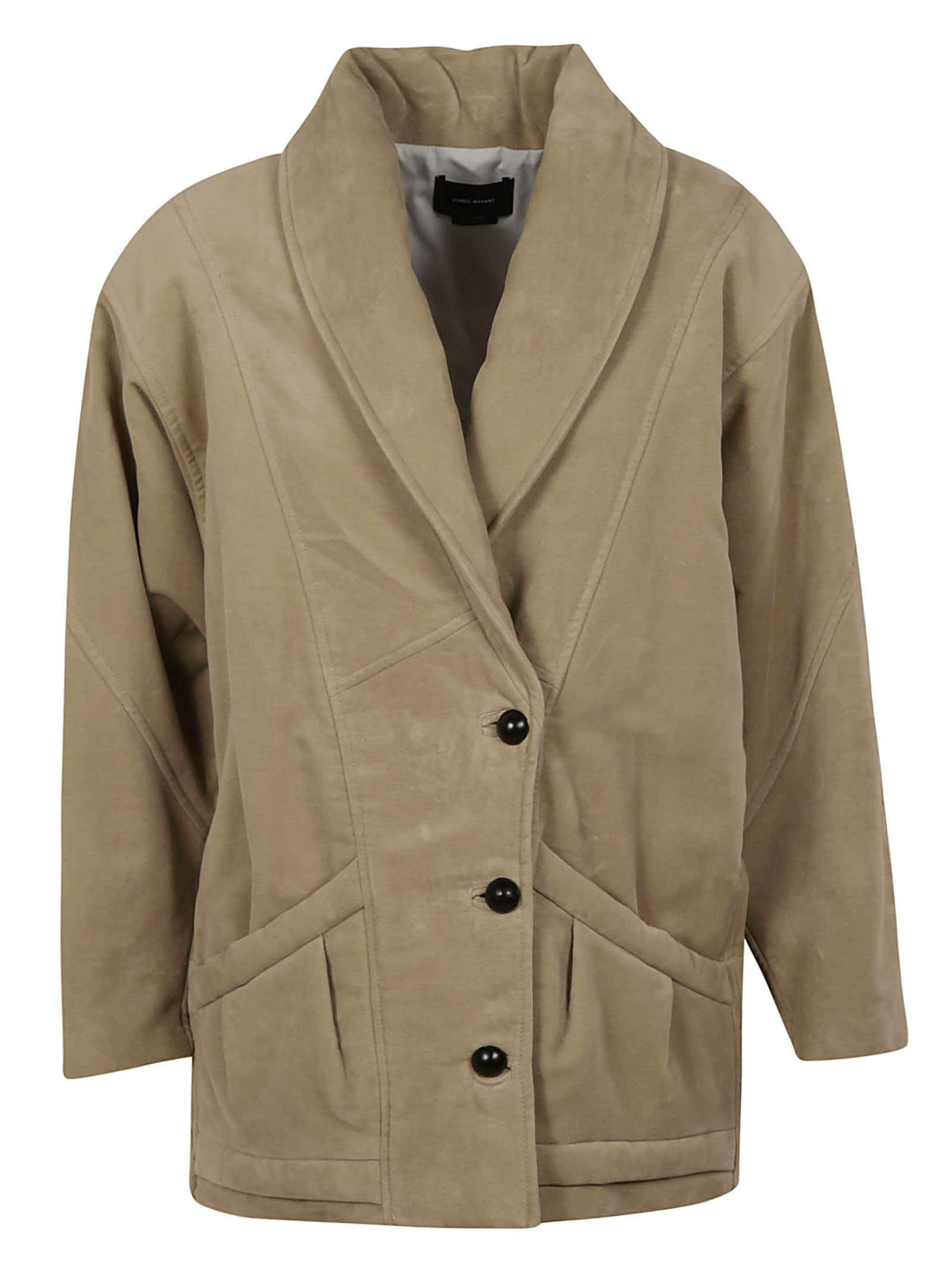 Isabel Marant Oversized Buttoned Jacket