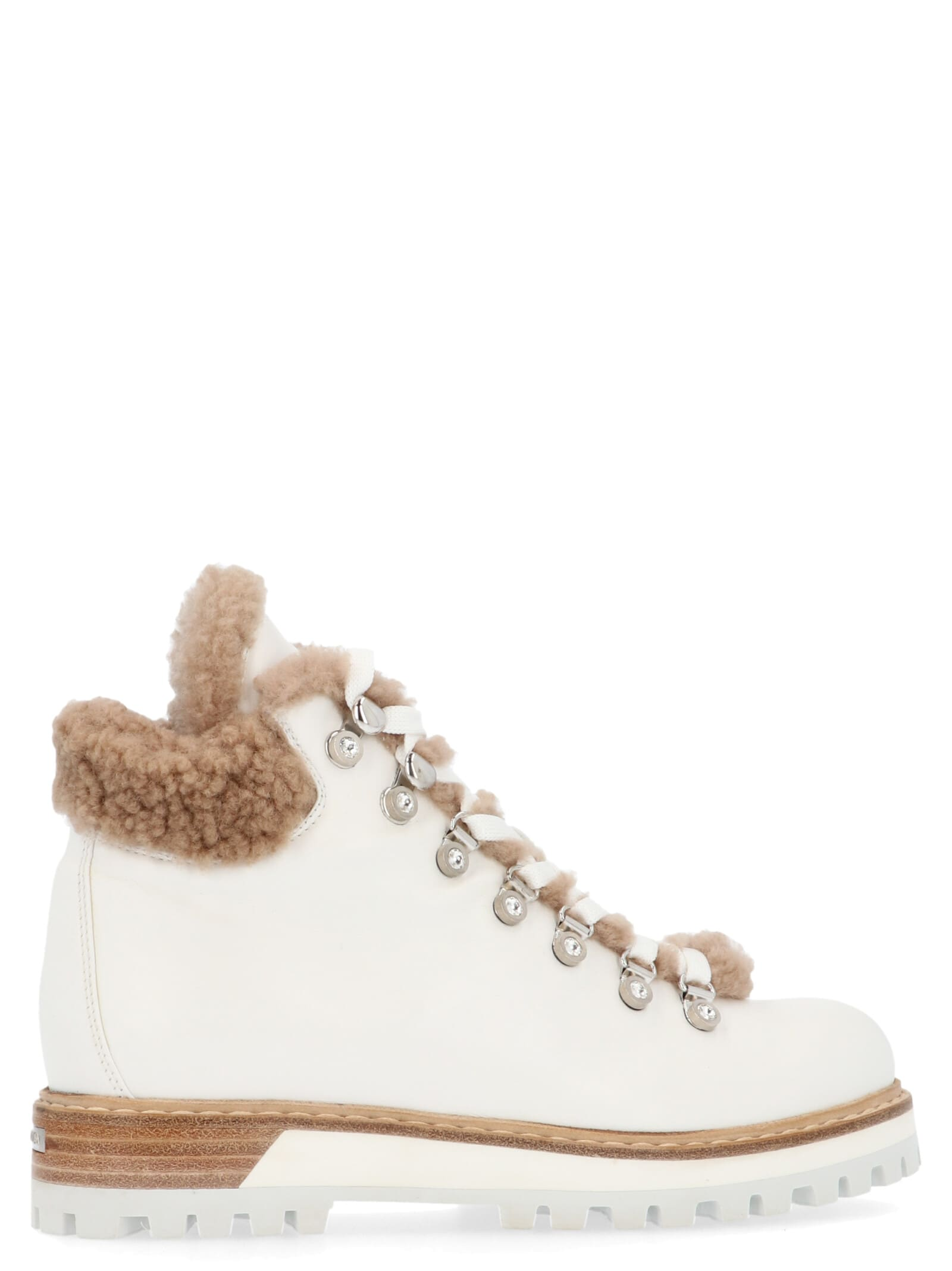 Le Silla St. Moritz Shoes In White