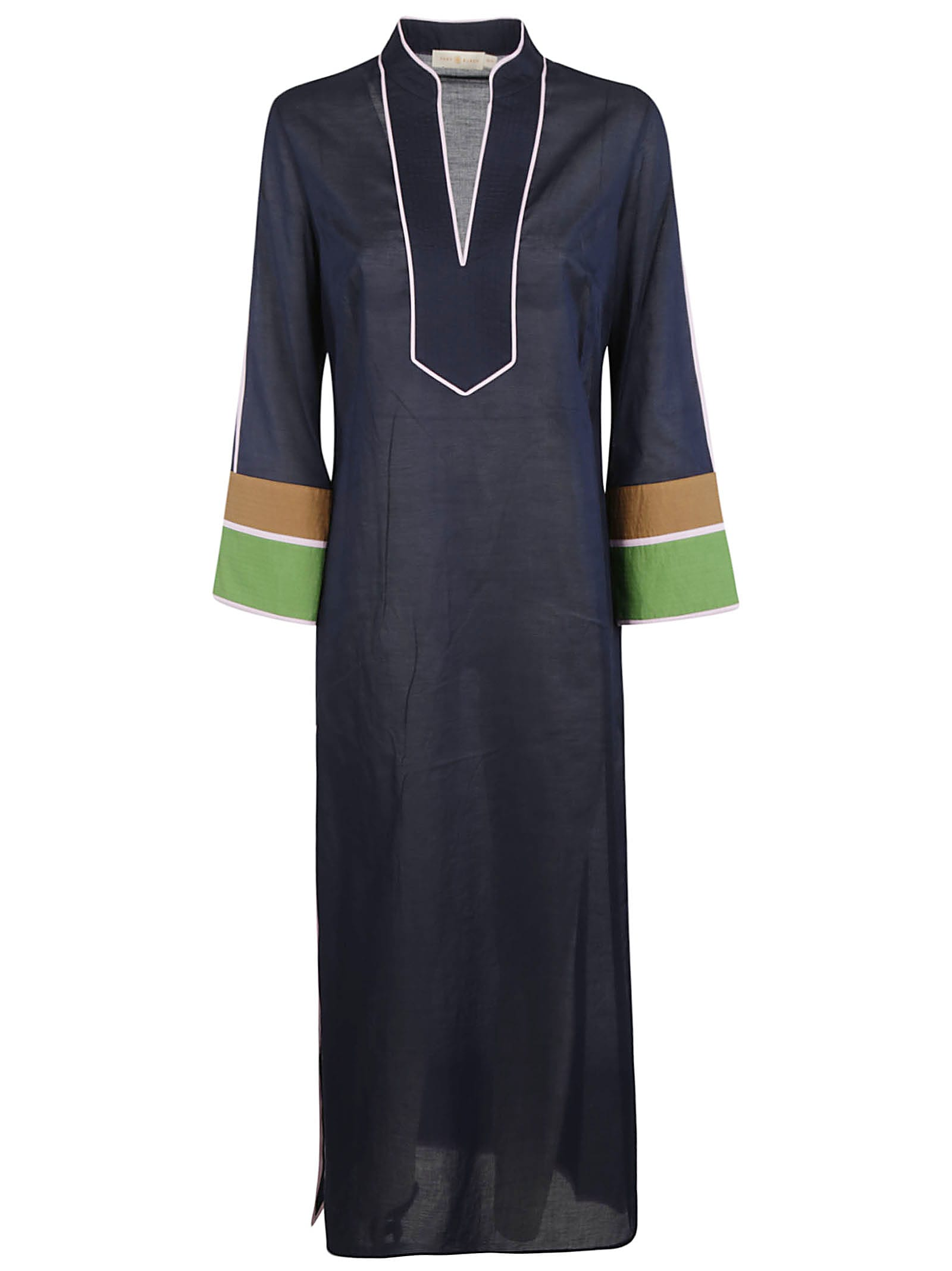 Buy Tory Burch Colo-blocked Long Dress online, shop Tory Burch with free shipping