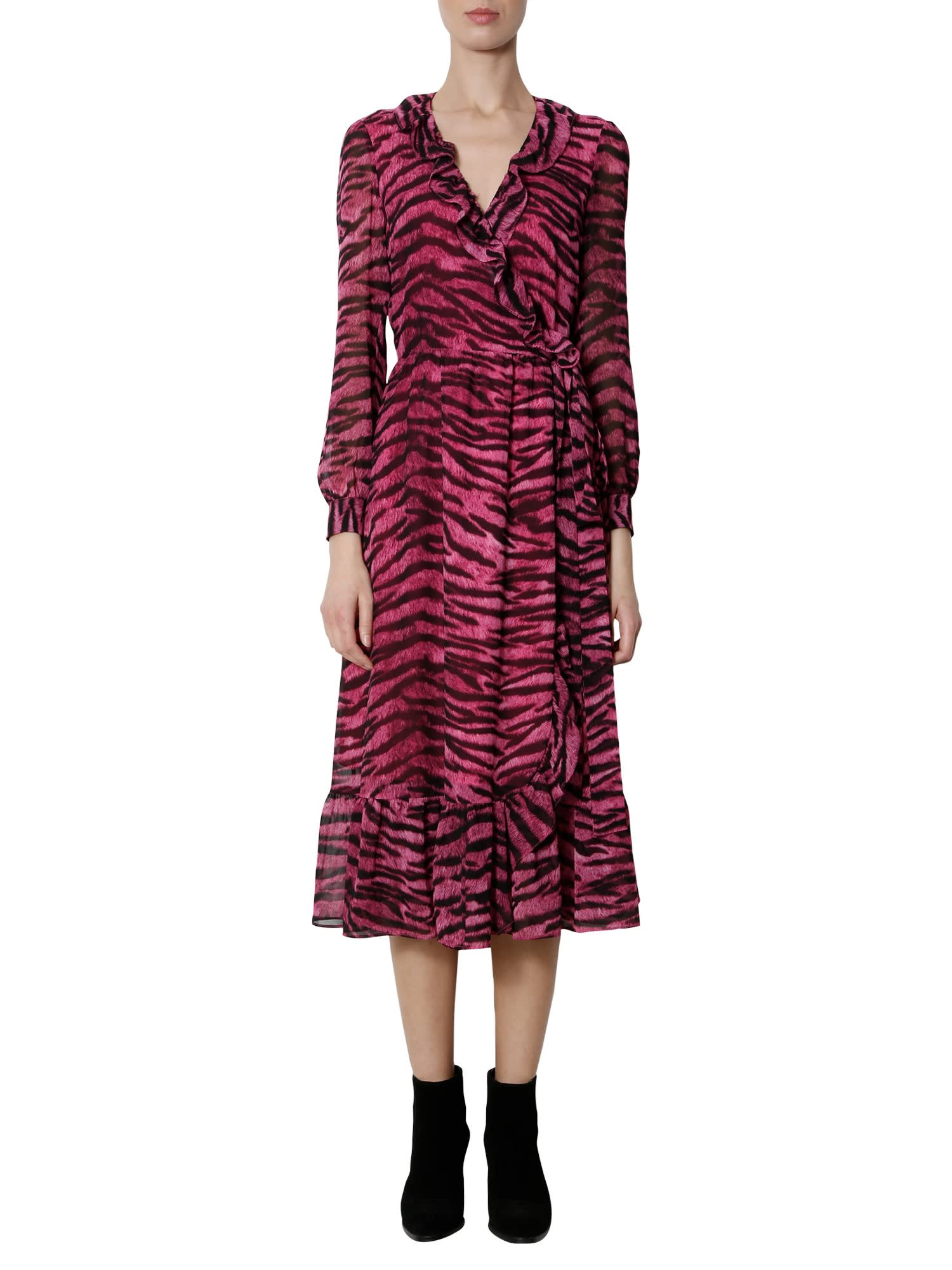 MICHAEL Michael Kors Glam Bengal Print Dress
