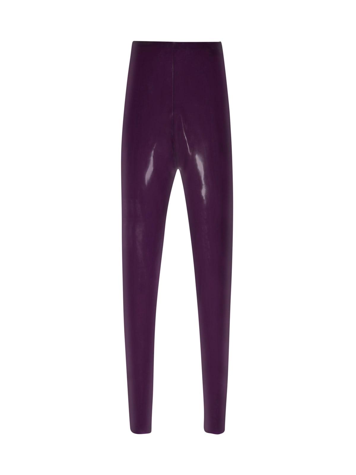 Saint Laurent Lipstic Rubber In Purple