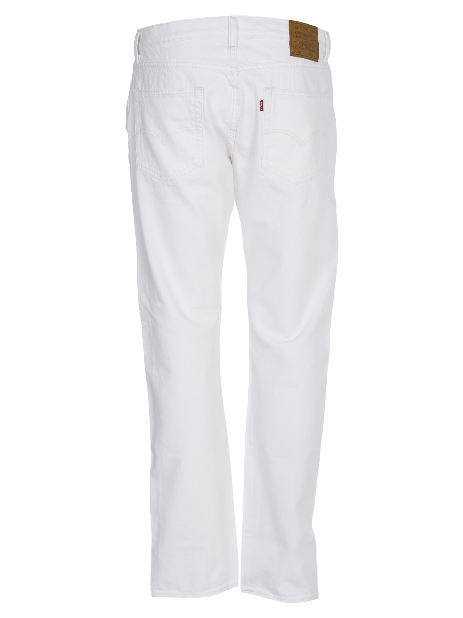 Best Authentic Levi's White 502 Jeans - Top Quality