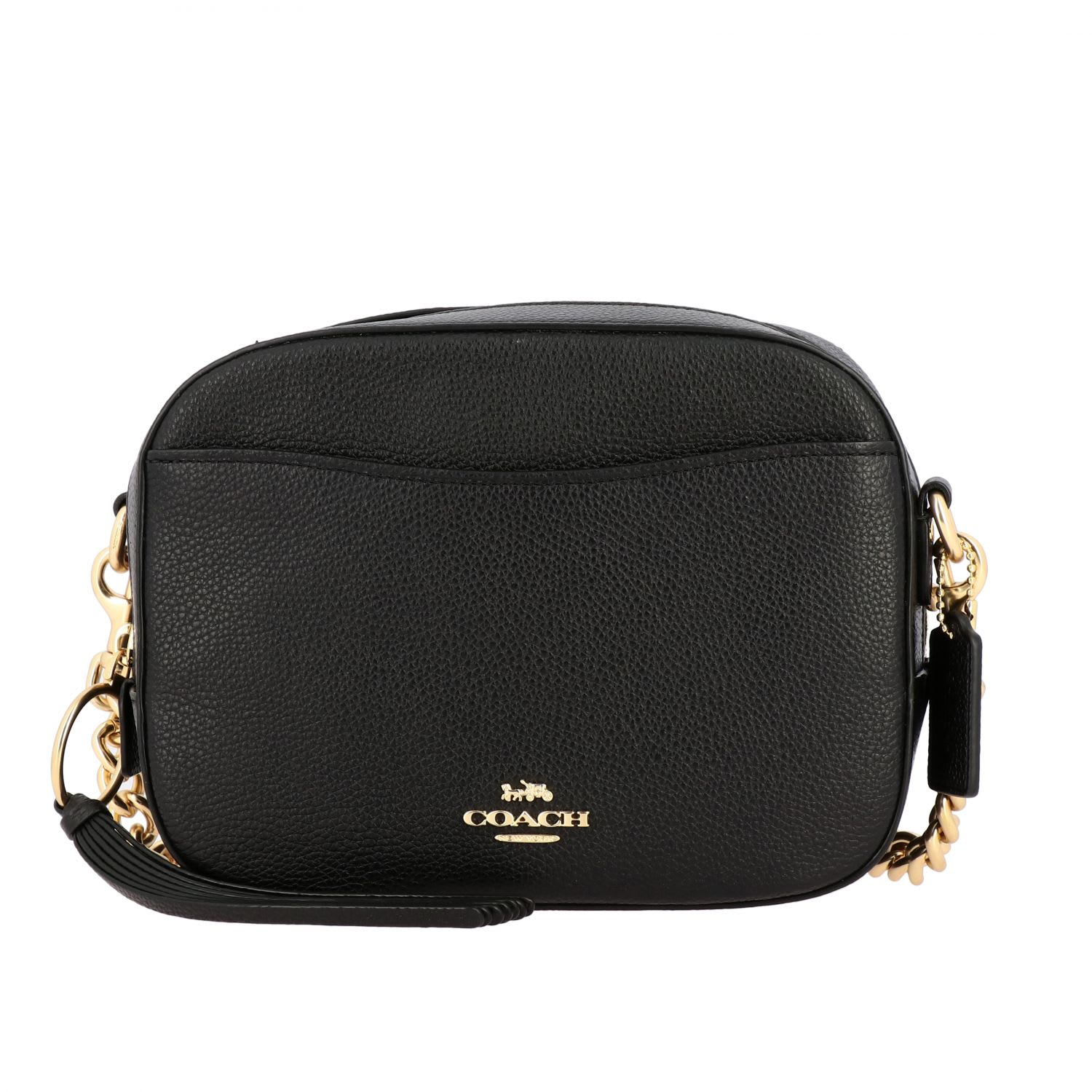 Coach Crossbody Bags Coach Camera Shoulder Bag In Grained Leather