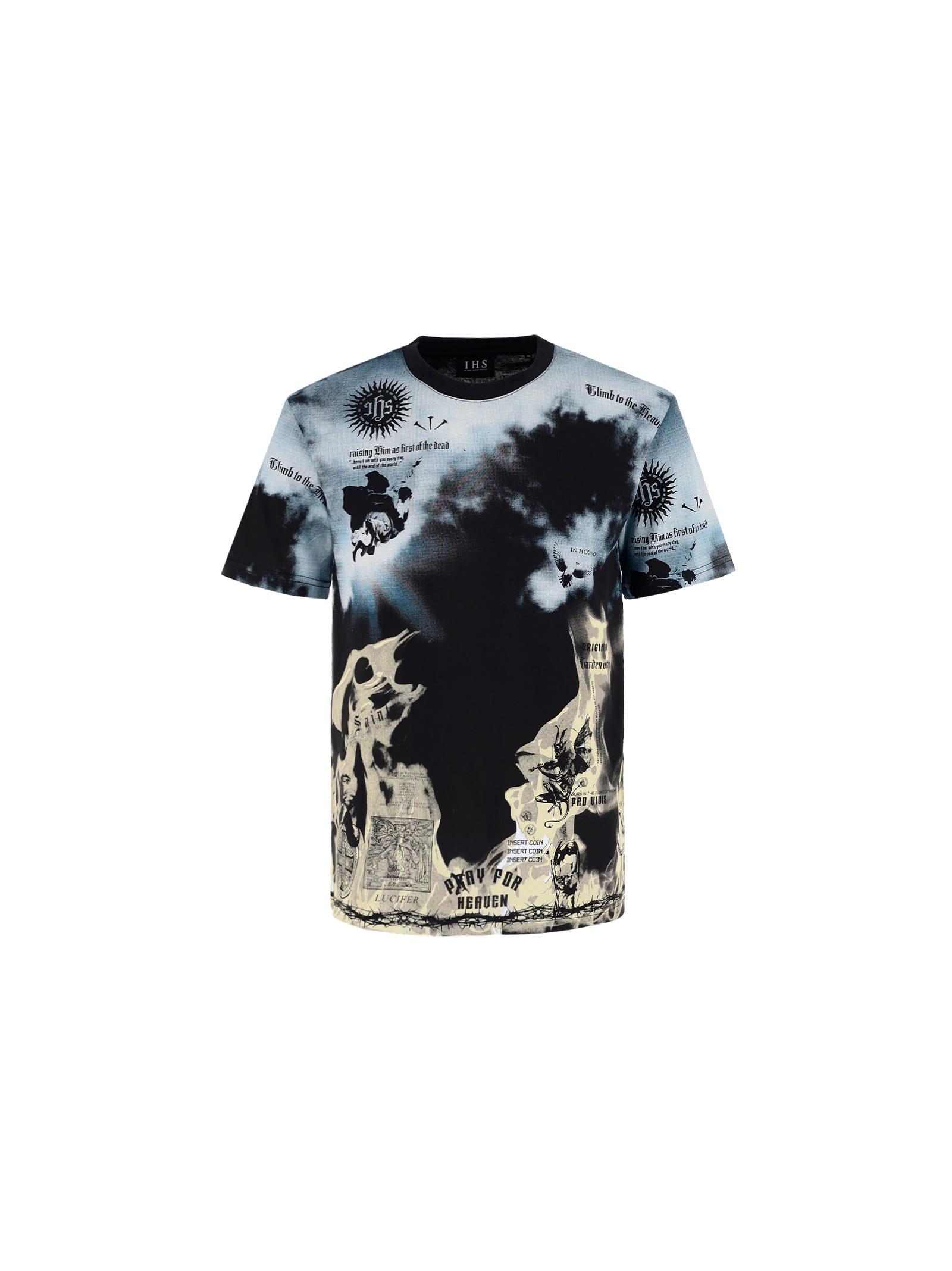 Clouds Flames T-shirt