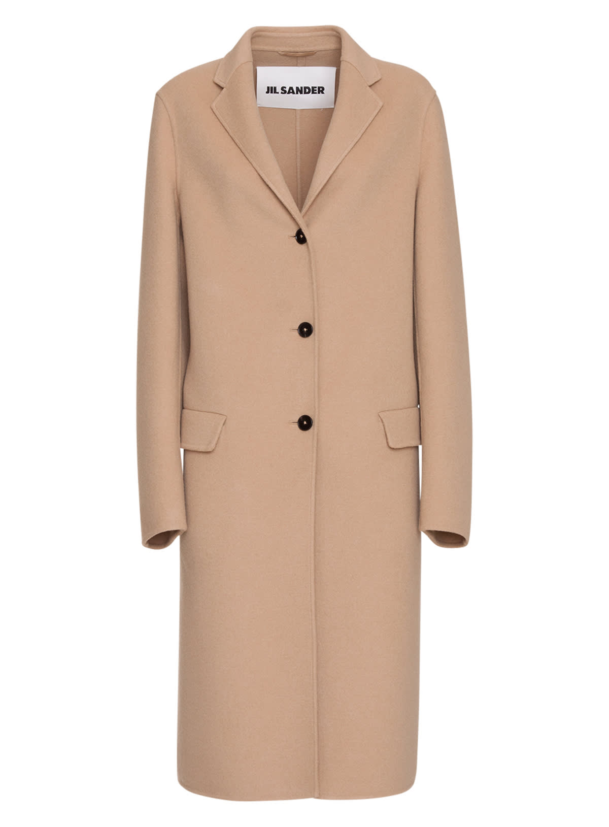 Jil Sander Cashmere Single-breasted Coat