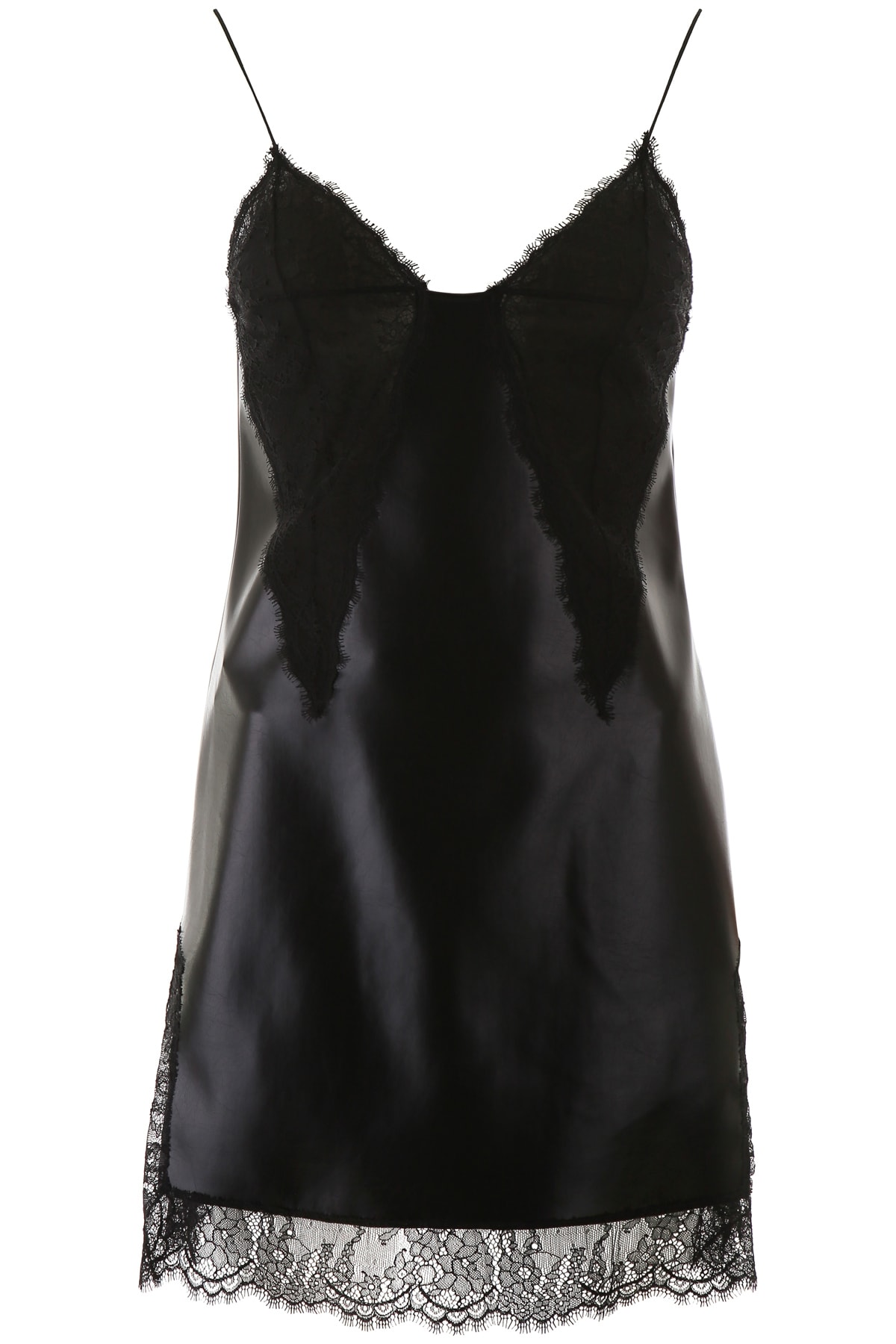 Buy Philosophy di Lorenzo Serafini Mini Dress With Lace online, shop Philosophy di Lorenzo Serafini with free shipping