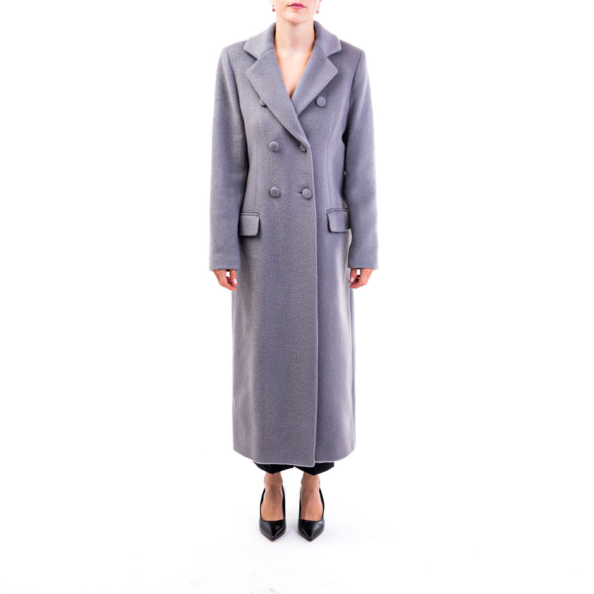 Be Blumarine Virgin Wool Blend Coat