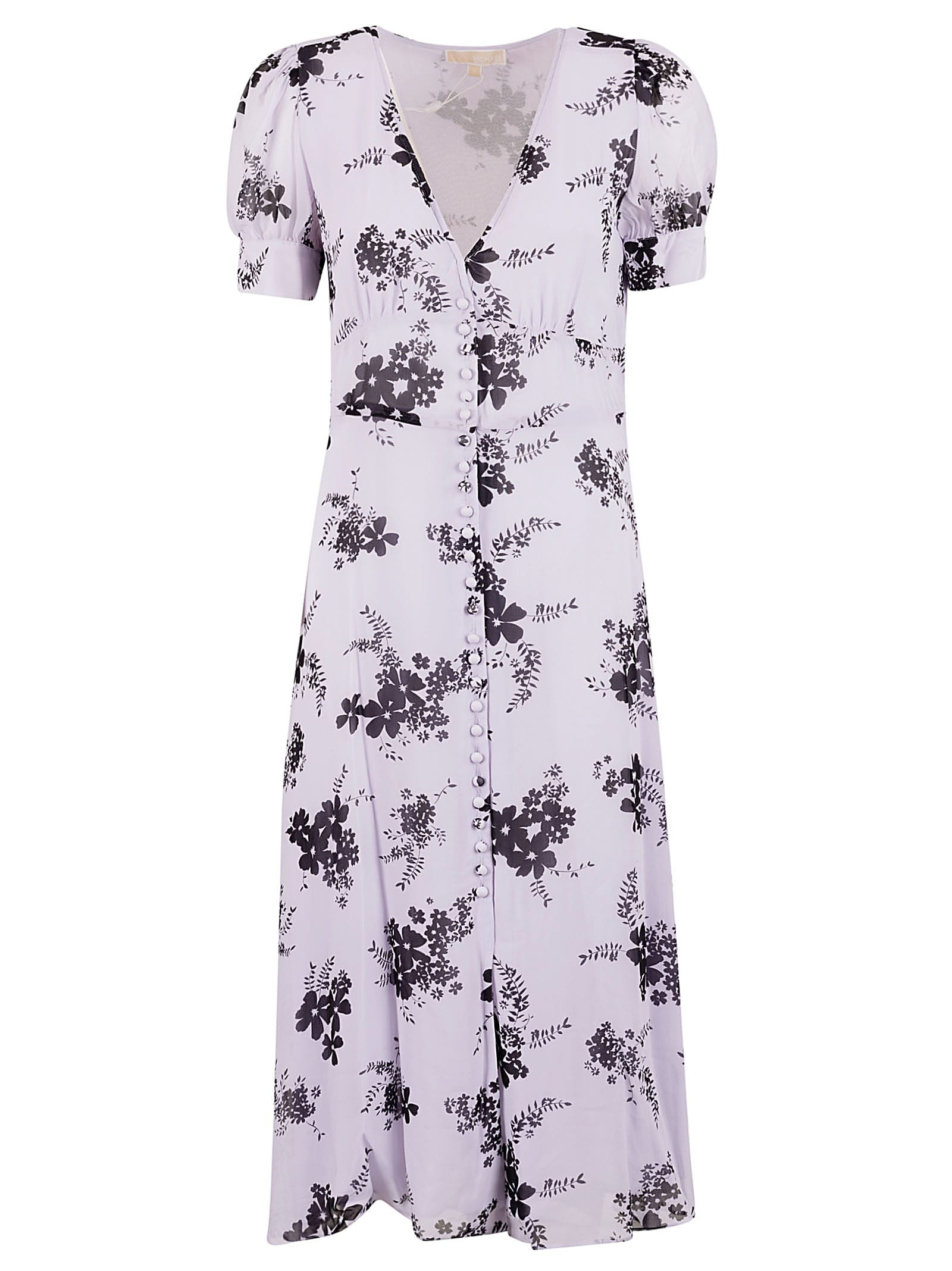 Buy MICHAEL Michael Kors Long Floral Print Dress online, shop MICHAEL Michael Kors with free shipping