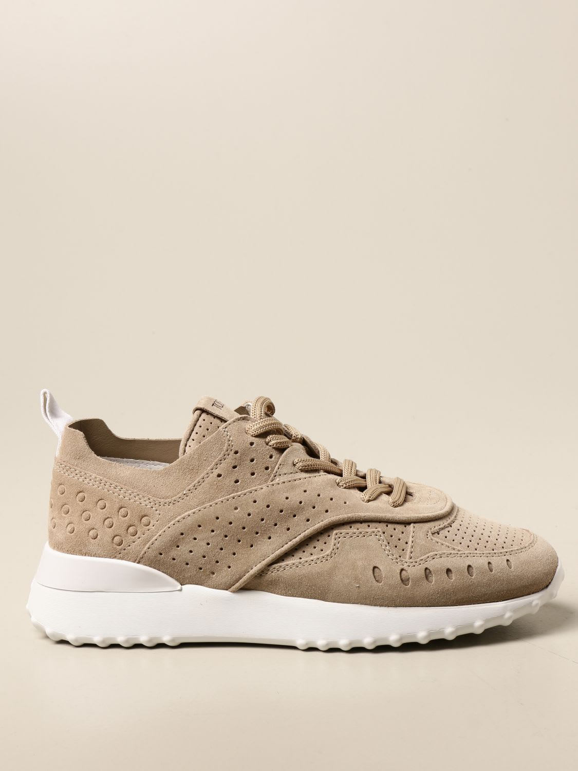Tods Sneakers Tods Sneakers In Perforated Suede