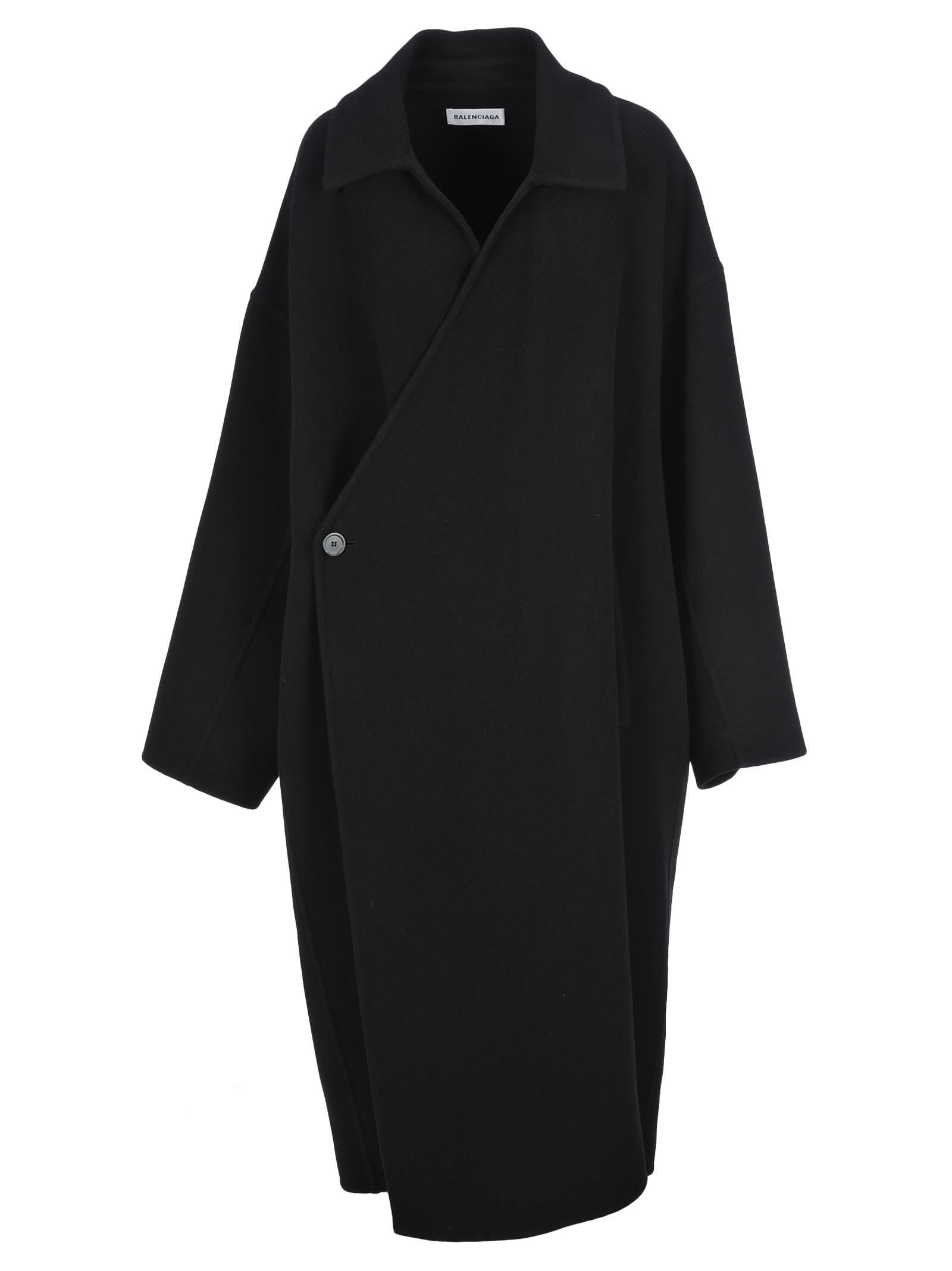 Balenciaga Wrap-around Coat