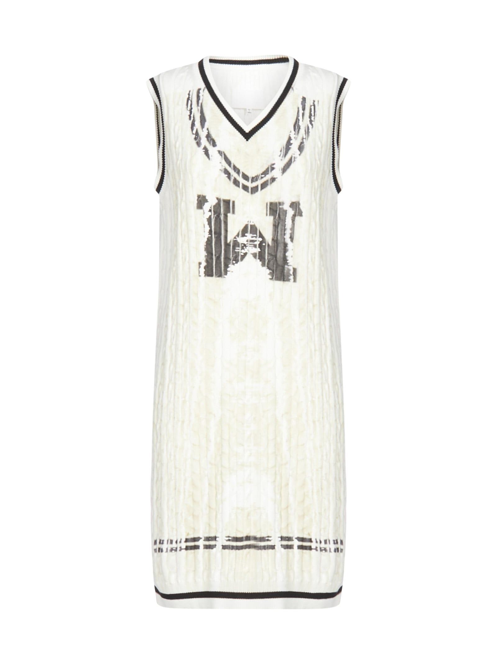 Buy Maison Margiela Gauge 7 Rib And Cable Dress online, shop Maison Margiela with free shipping
