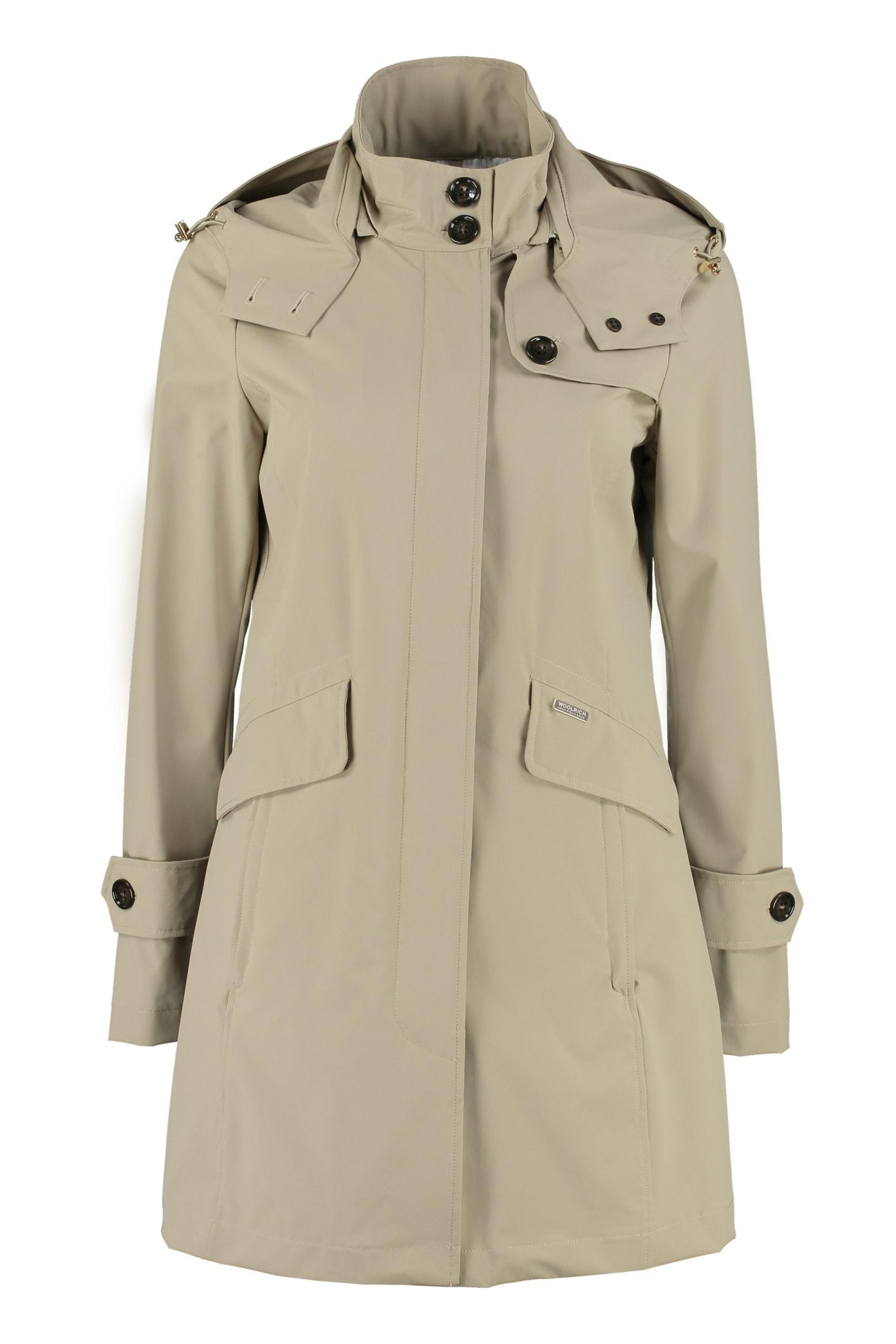 Woolrich Fayette Nylon Trench-coat