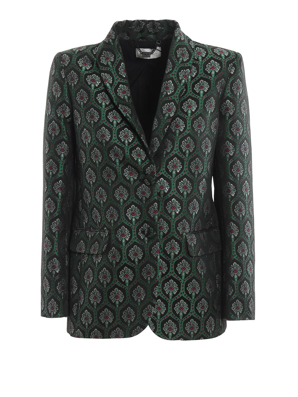 Be Blumarine Jacquard Liberty Coat