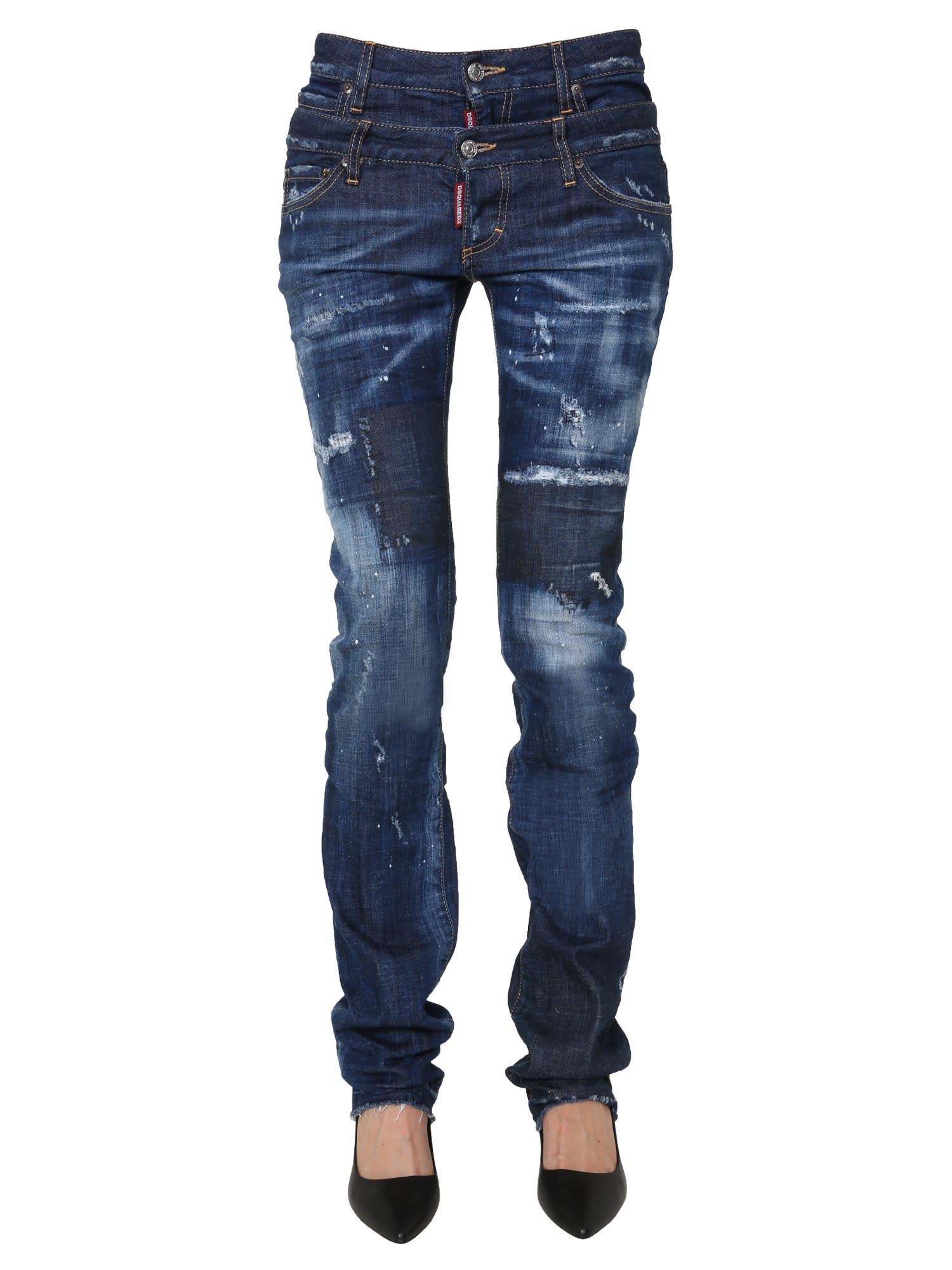 Dsquared2 Sharpei Twin Pack Jeans