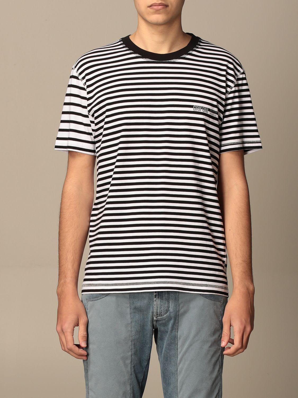 Grifoni T-shirt Striped Cotton Griffins T-shirt