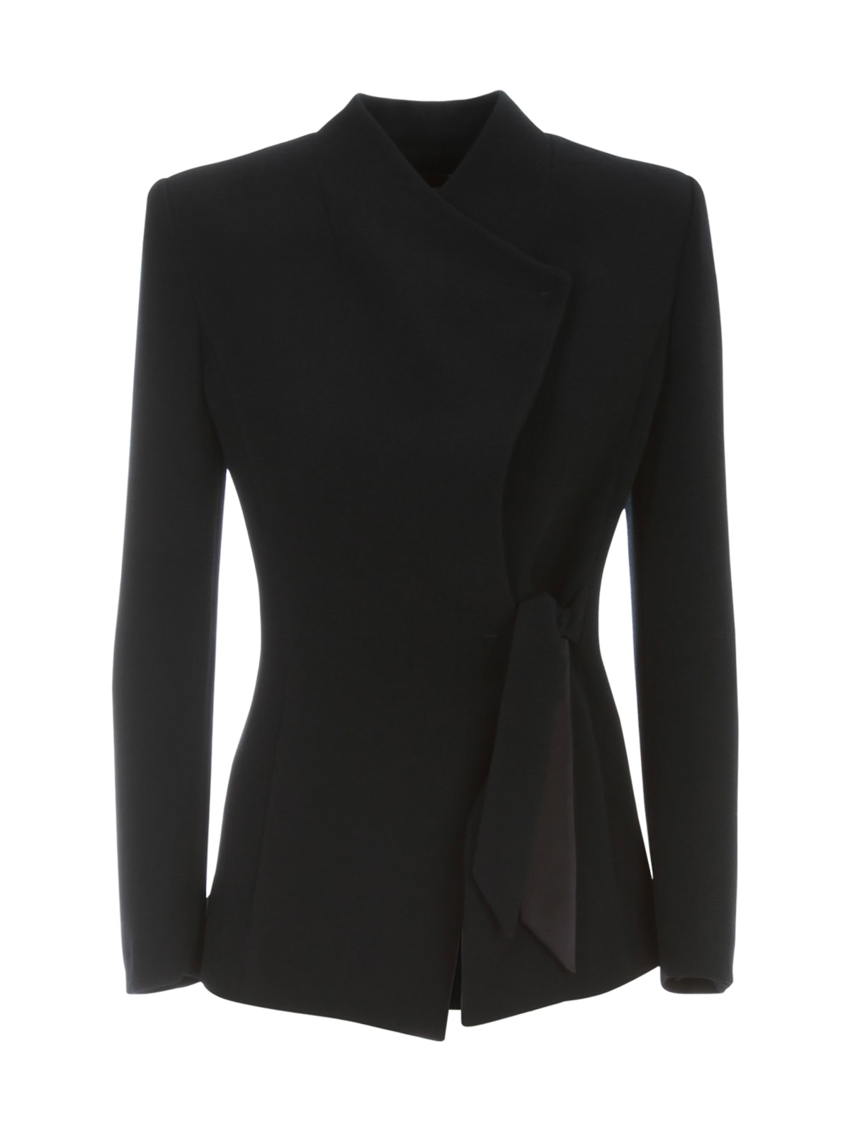 Emporio Armani Jacket Side Latch W/knot from Emporio ArmaniComposition: 96% Polyester, 4% Elastane