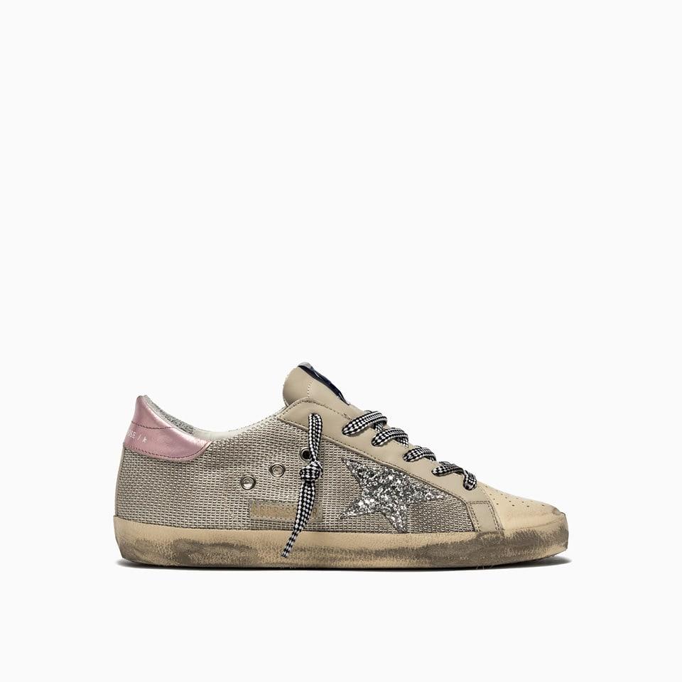 Golden Goose Super Star Net-up Sneakers Gwf00101. f001611