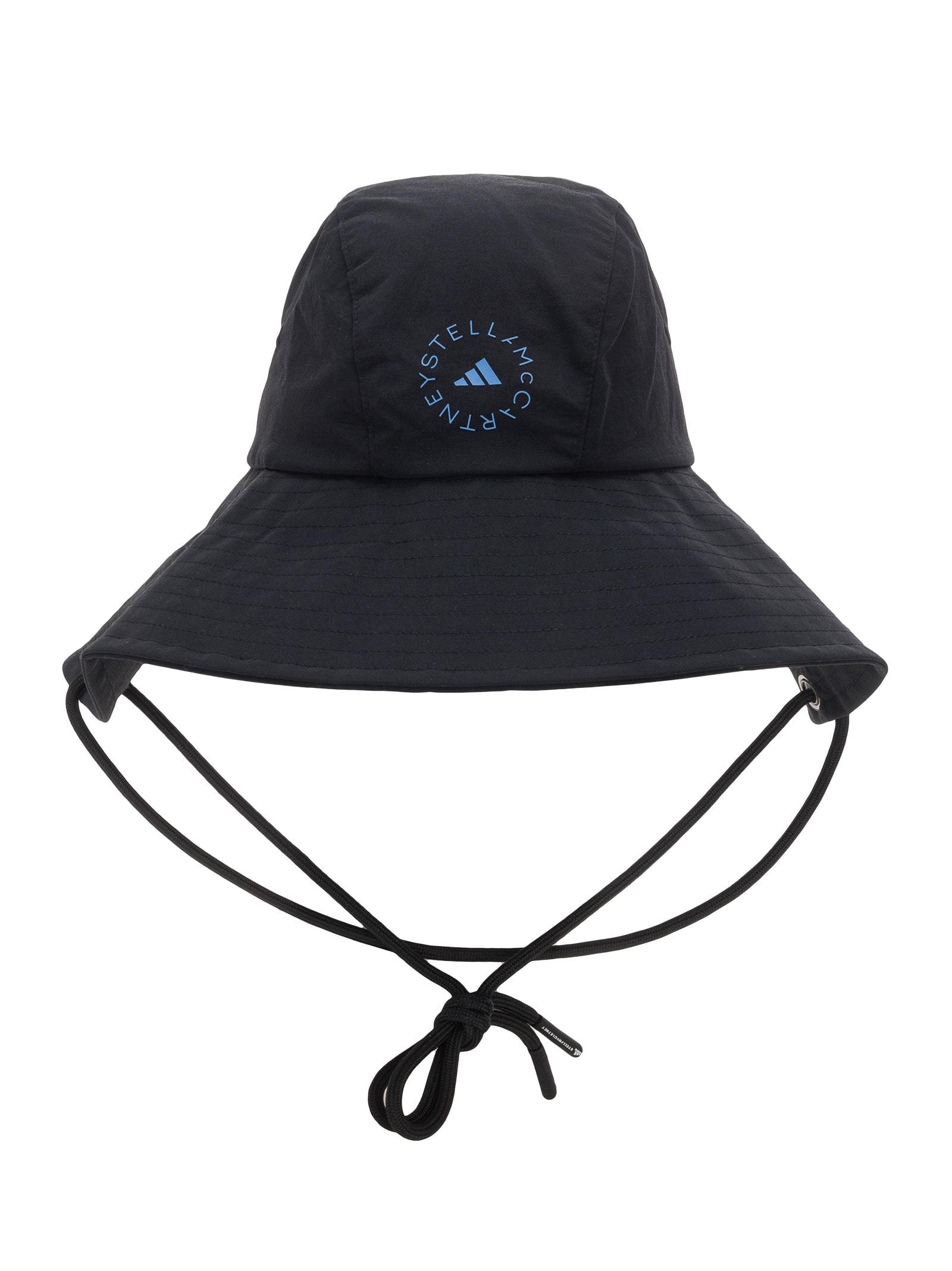 Adidas By Stella Mccartney Hats ADIDAS BY STELLA MCCARTNEY LOGO PRINT BUCKET HAT