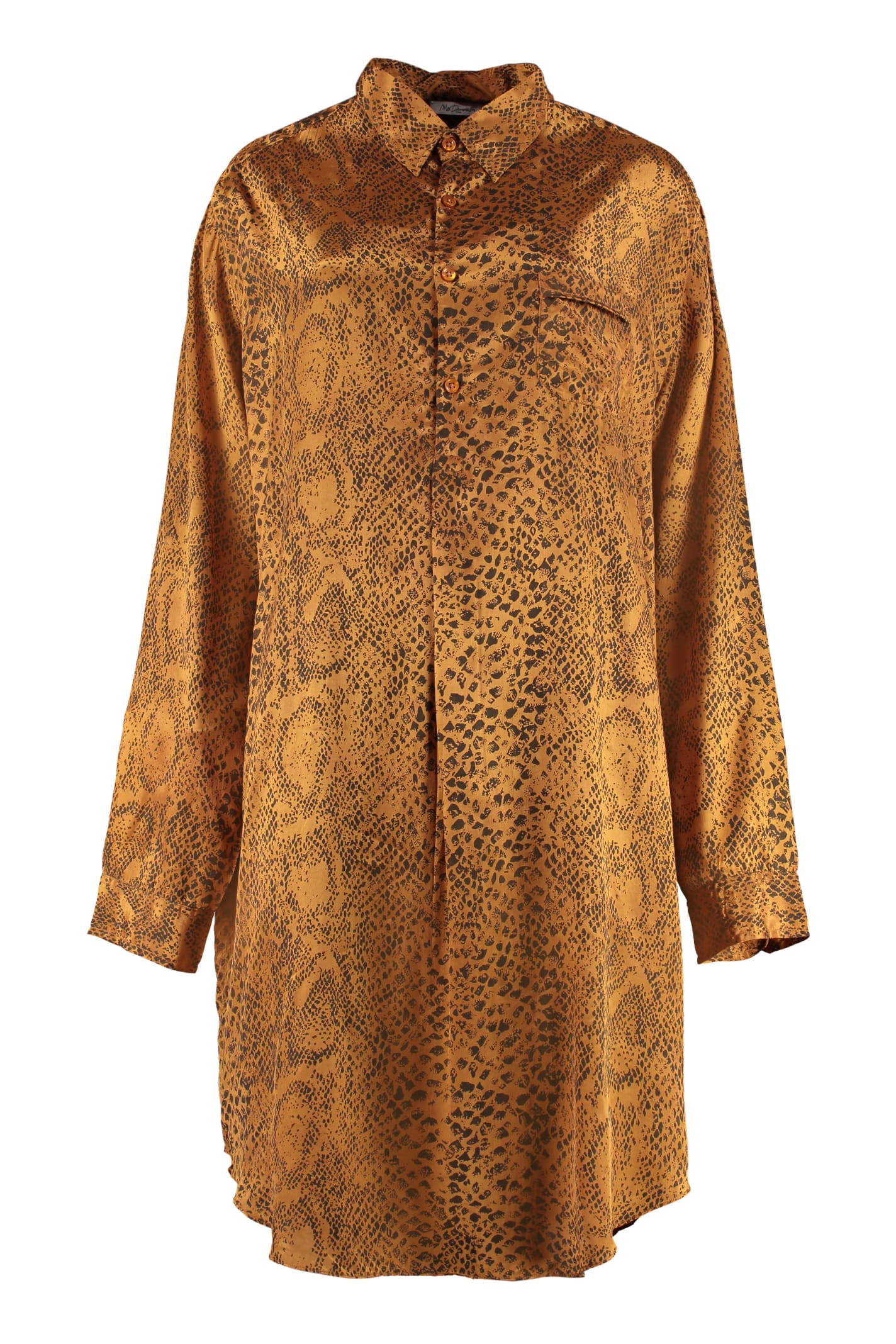 Mes Demoiselles Kaa Printed Shirtdress