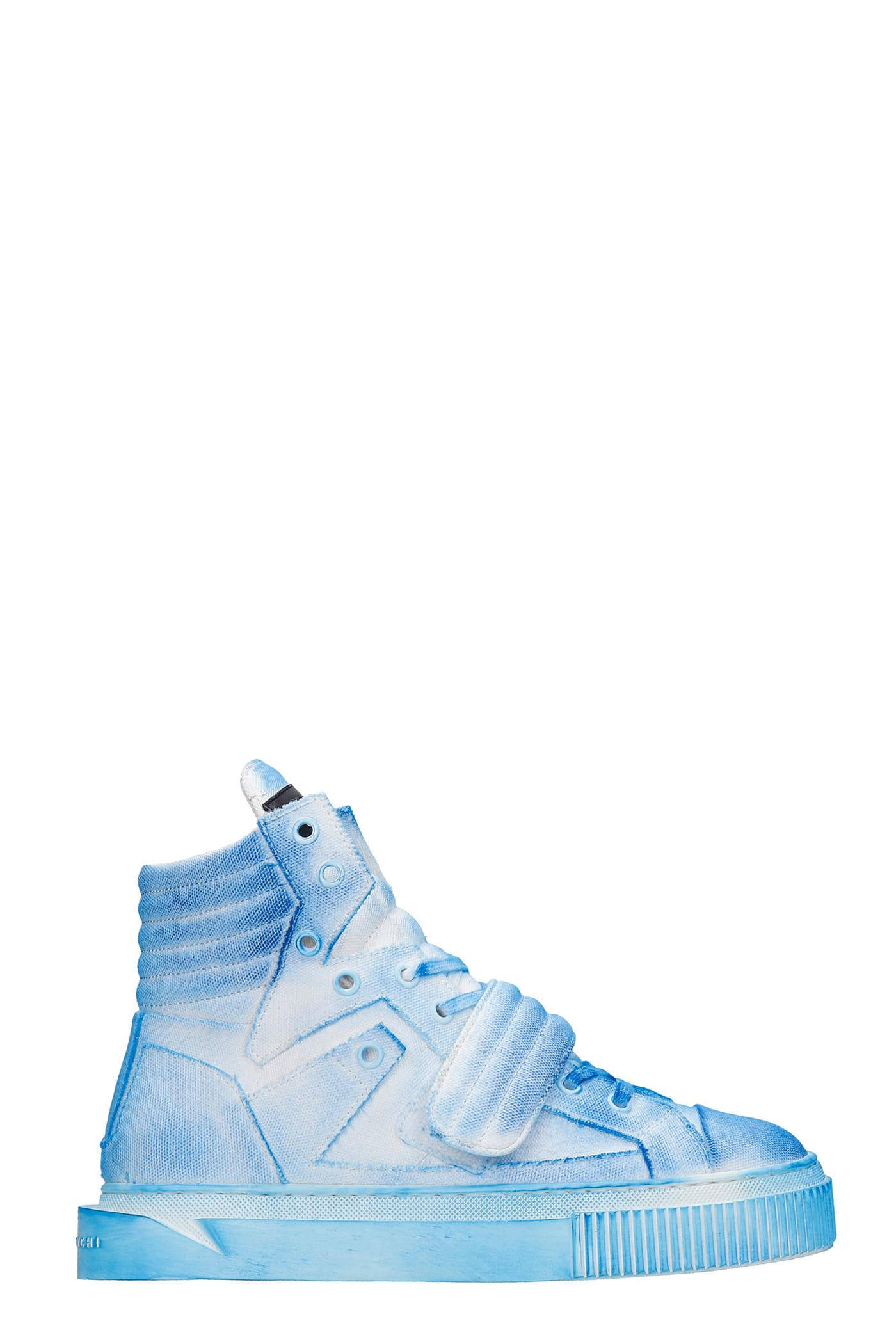 Hypnos Sneakers In Cyan Canvas