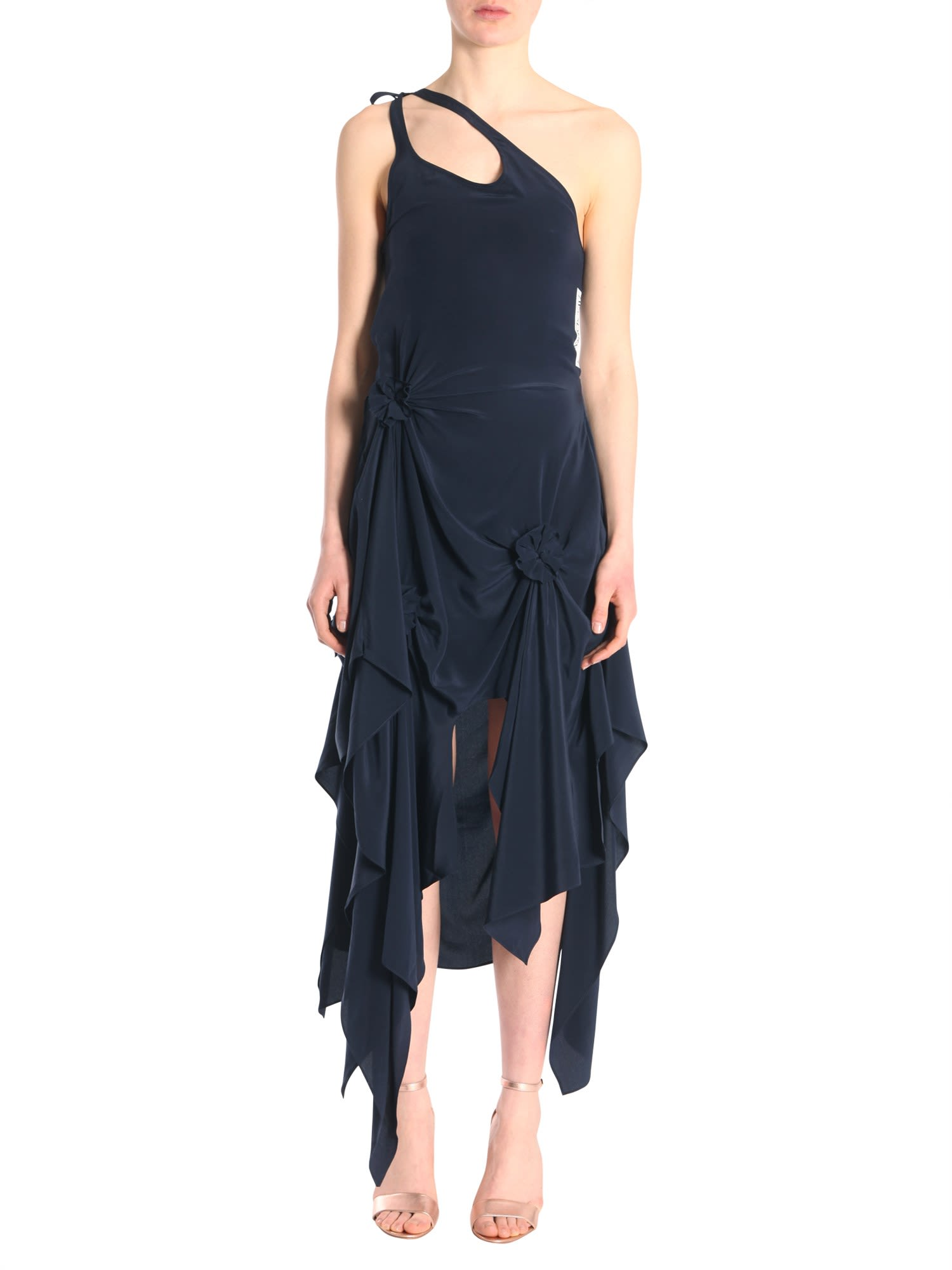 J.W. Anderson Asymmetric One Shoulder Dress