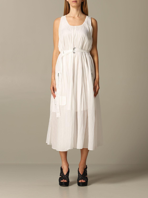 Buy Armani Exchange Dress Dress Women Armani Exchange online, shop Armani Collezioni with free shipping