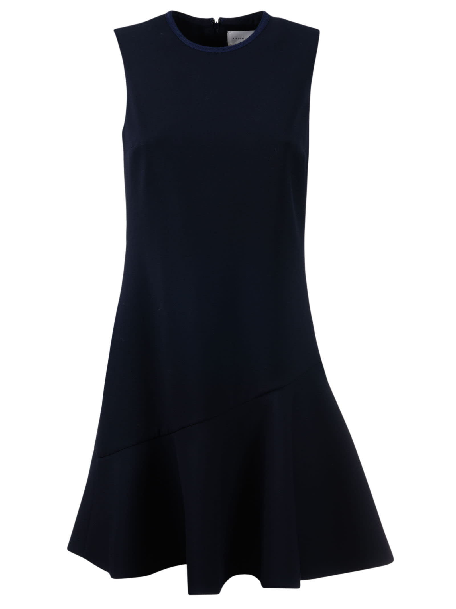 Victoria Beckham Flounce Shift Dress