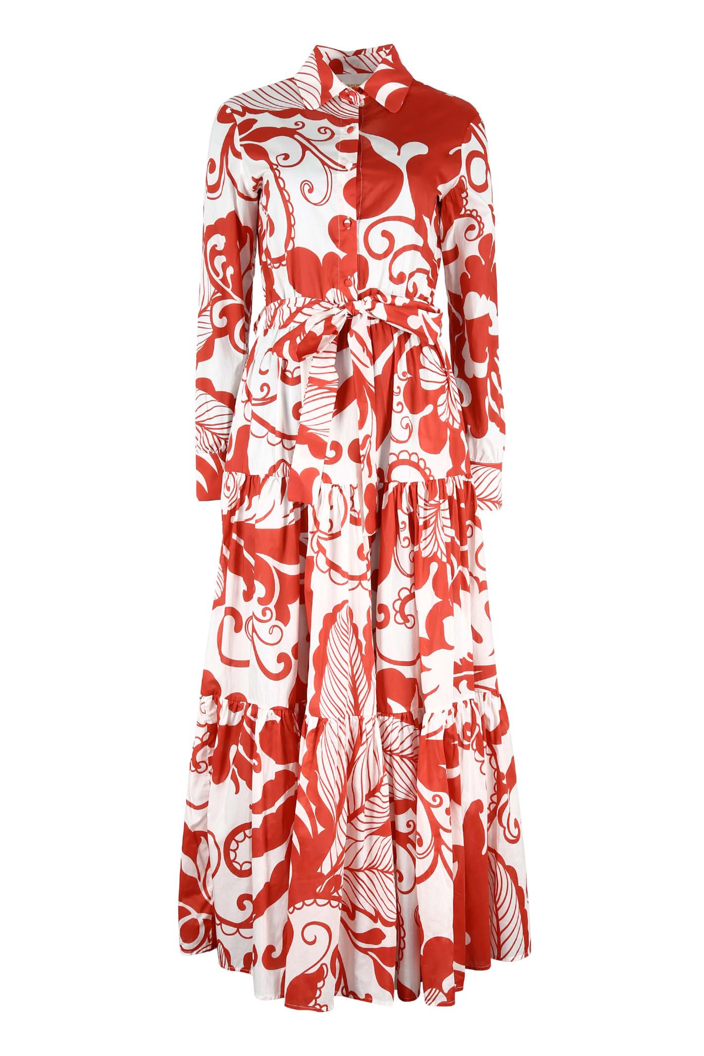 Buy La DoubleJ Bellini Belted Shirtdress online, shop La DoubleJ with free shipping