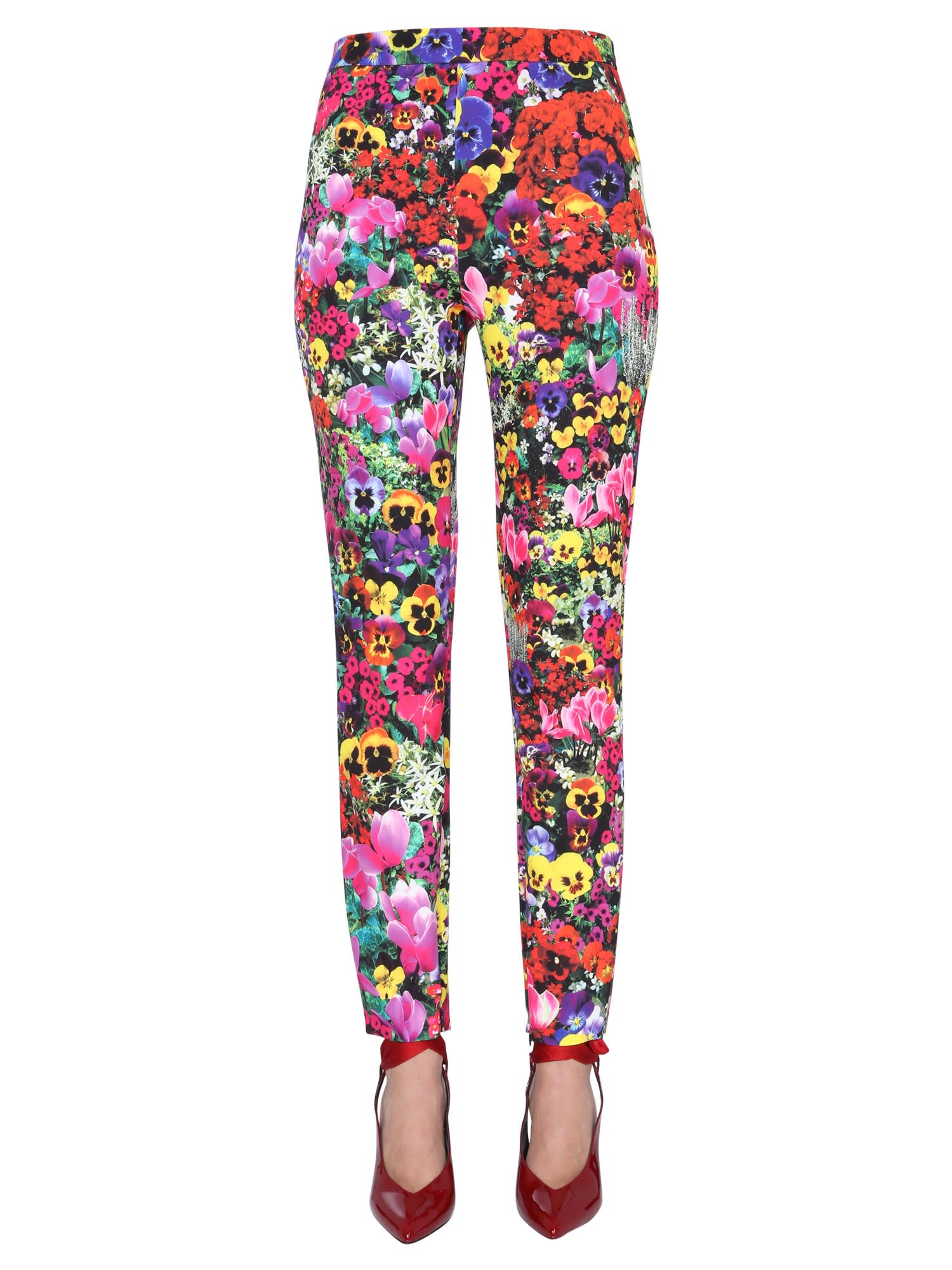 Boutique Moschino PRINTED LEGGINGS