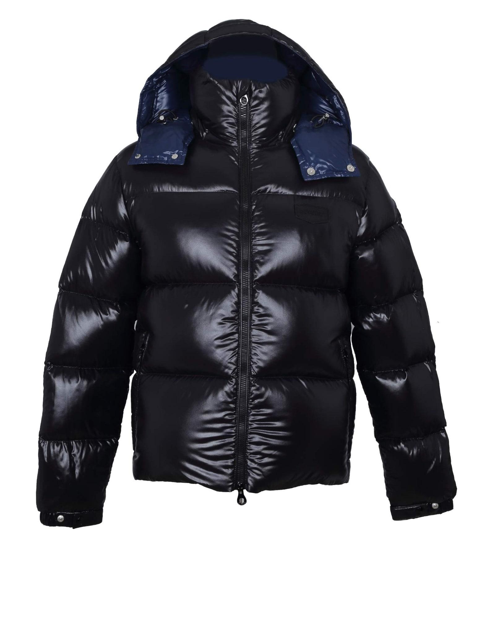 Sallo Hooded Jacket Black