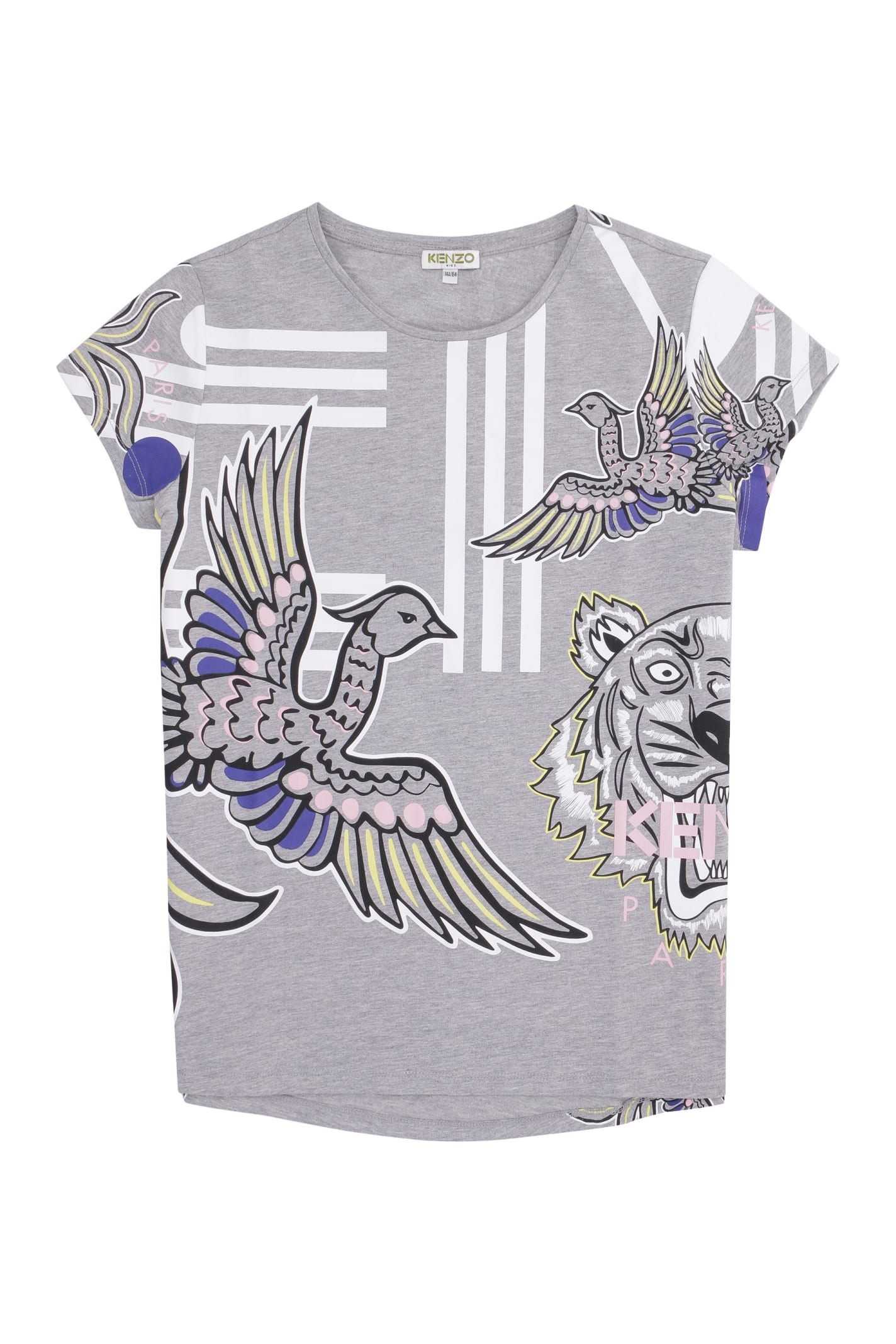 Kenzo T-shirts PRINTED COTTON T-SHIRT