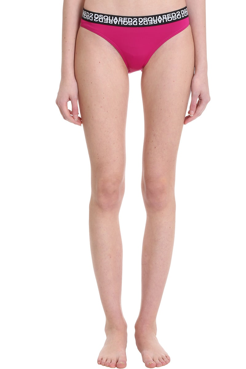 Dsquared2 Beachwear In Fuxia Polyester