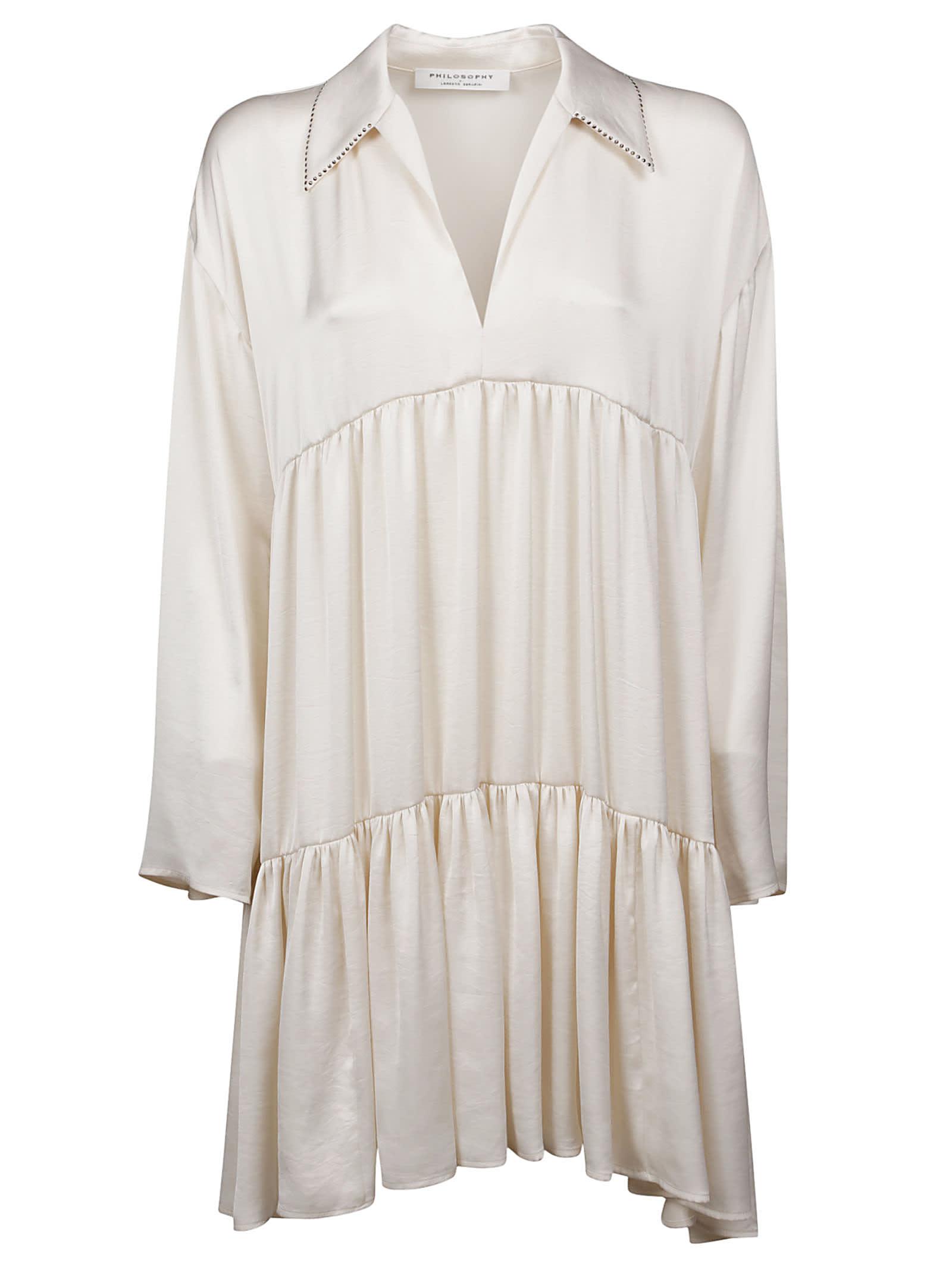Buy Philosophy di Lorenzo Serafini Flared Dress online, shop Philosophy di Lorenzo Serafini with free shipping
