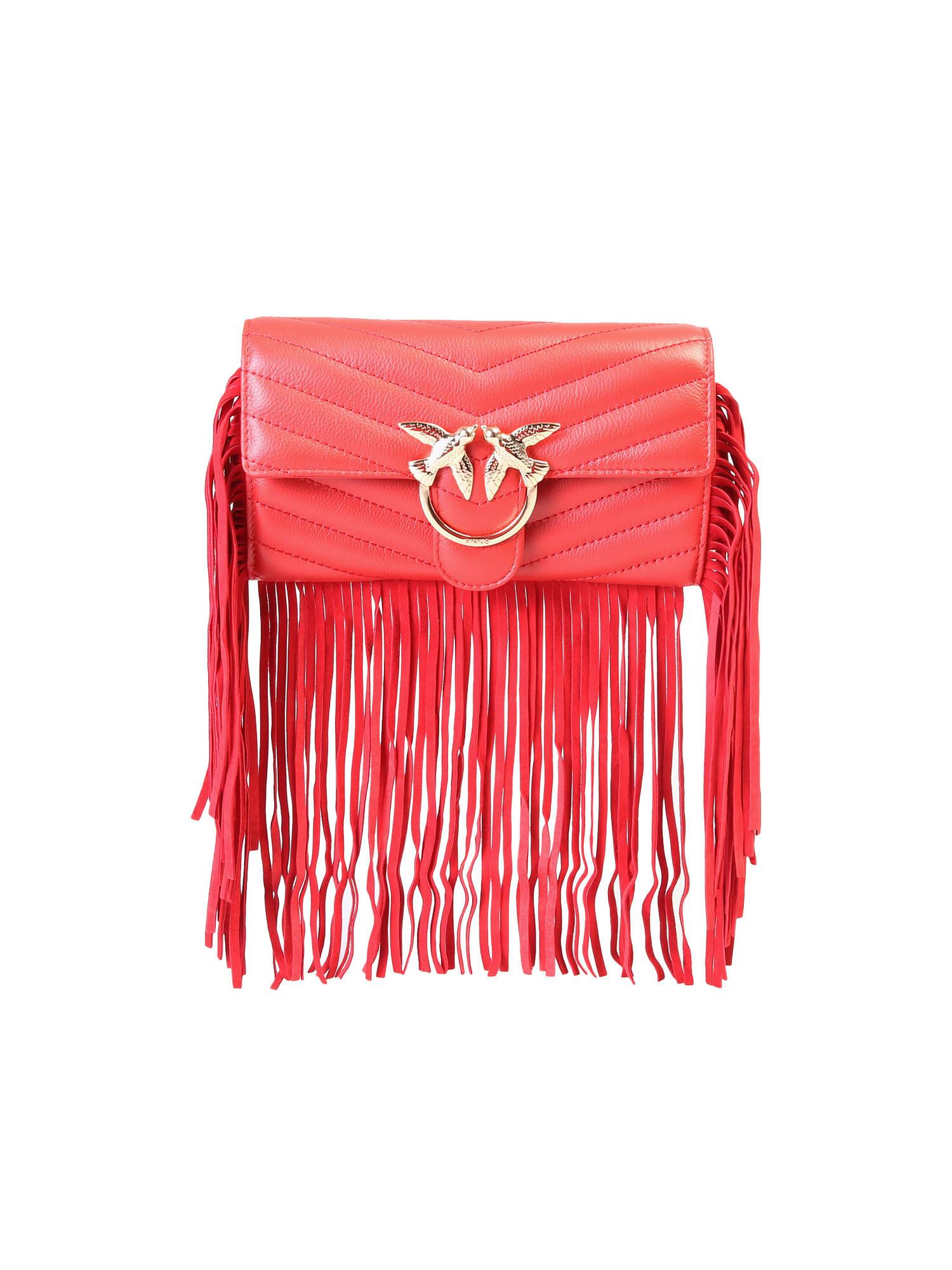 Pinko Fringed Bag