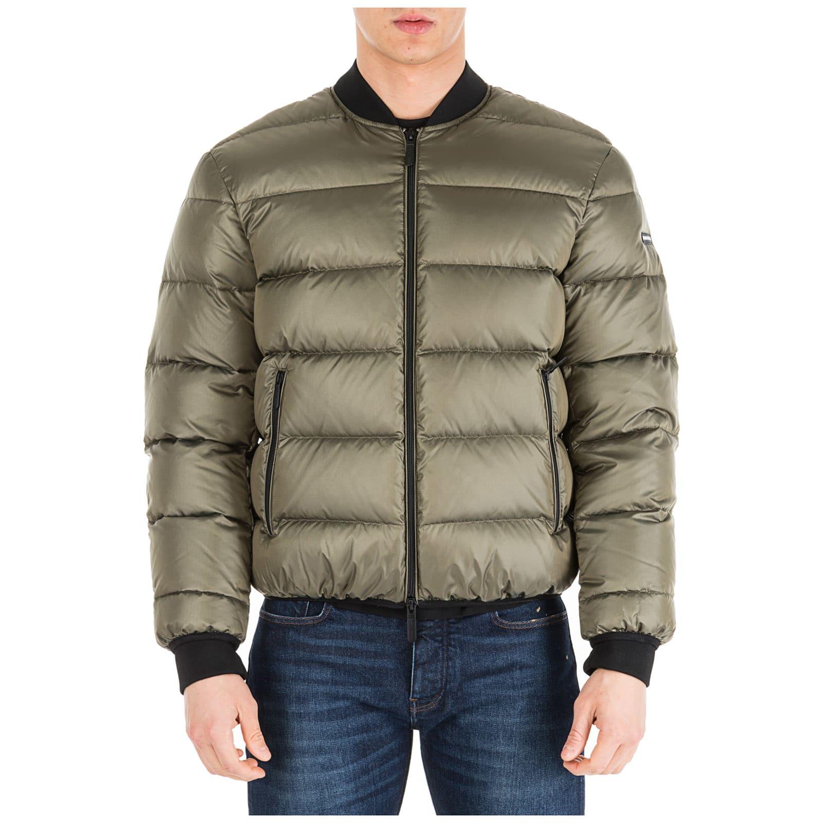 super popolare c642f b668e Best price on the market at italist | Emporio Armani Emporio Armani Bomber  Outerwear Down Jacket Blouson