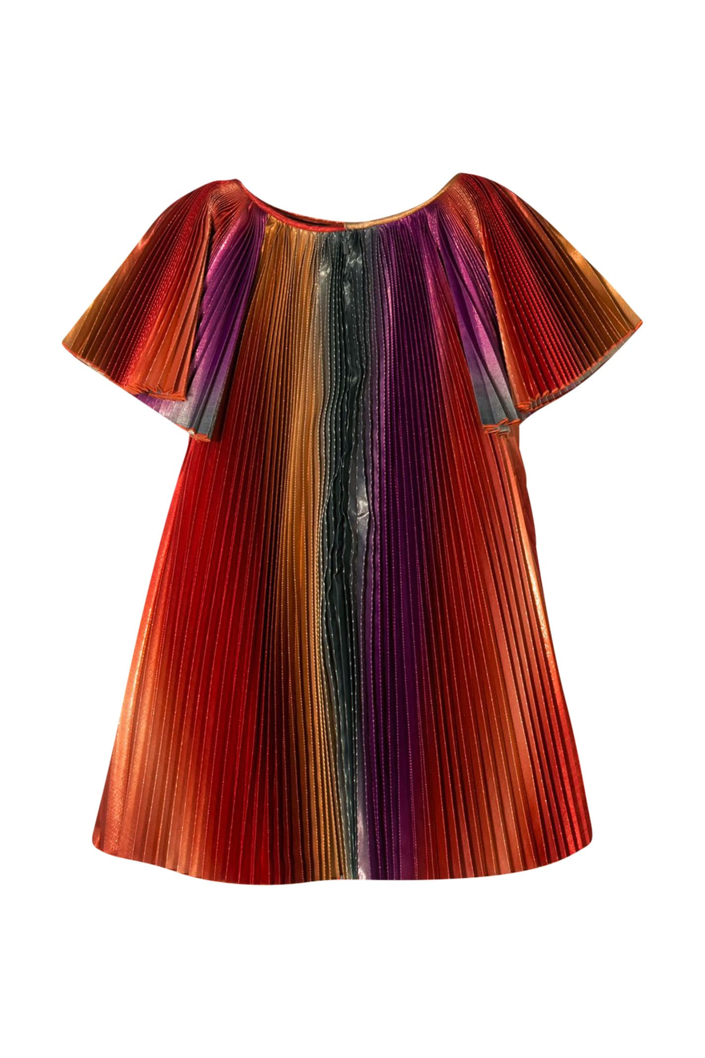 Buy Givenchy Kids Pleated Dress online, shop Givenchy with free shipping