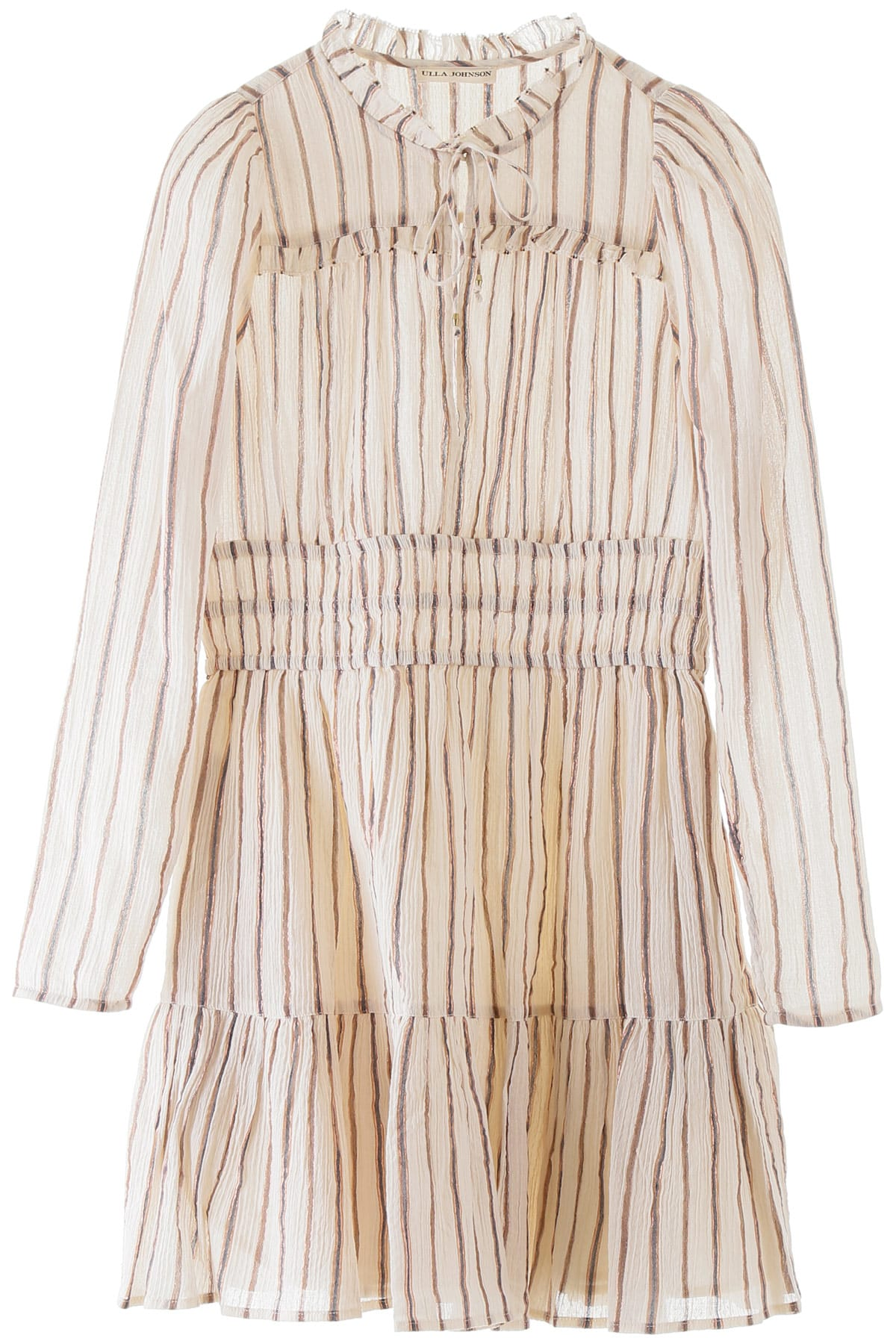 Buy Ulla Johnson Rosalind Striped Dress online, shop Ulla Johnson with free shipping