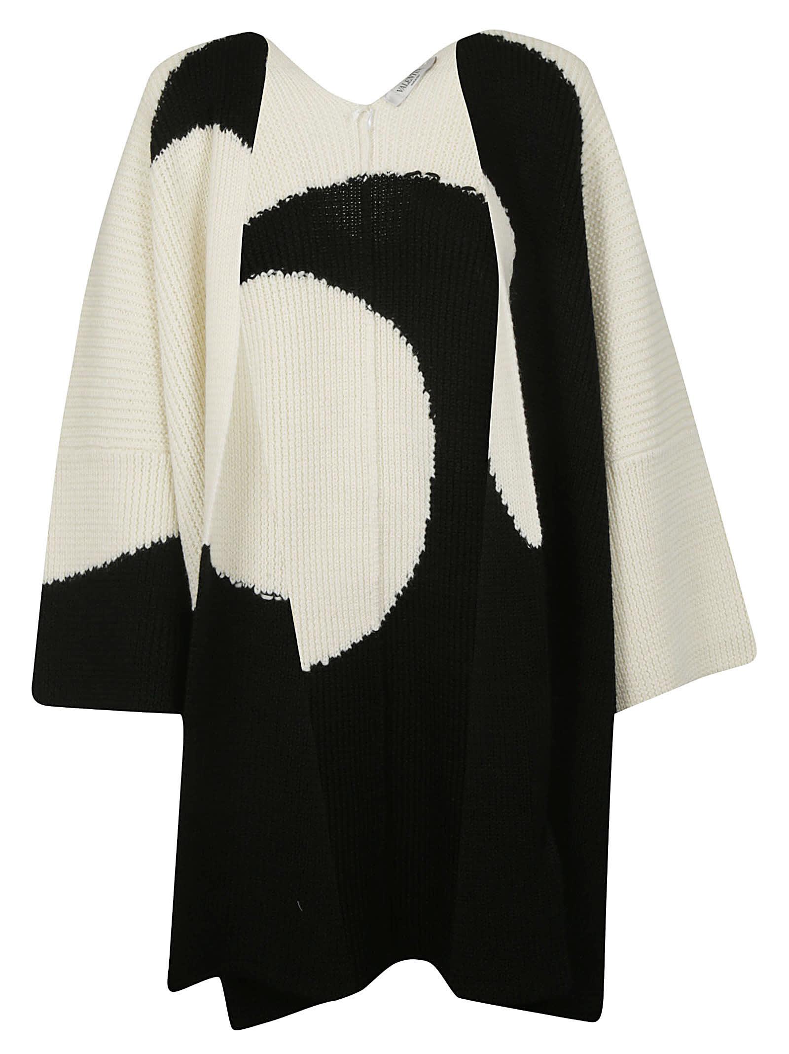 Valentino Knitted Poncho