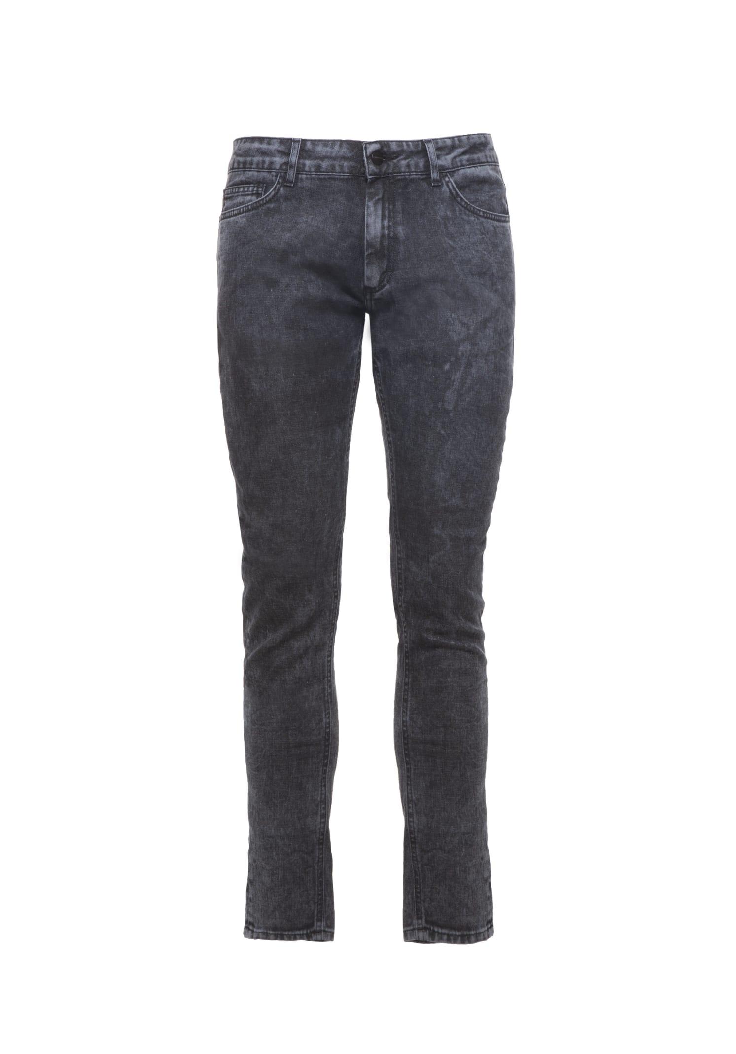 Jeans Denim Marble Grey