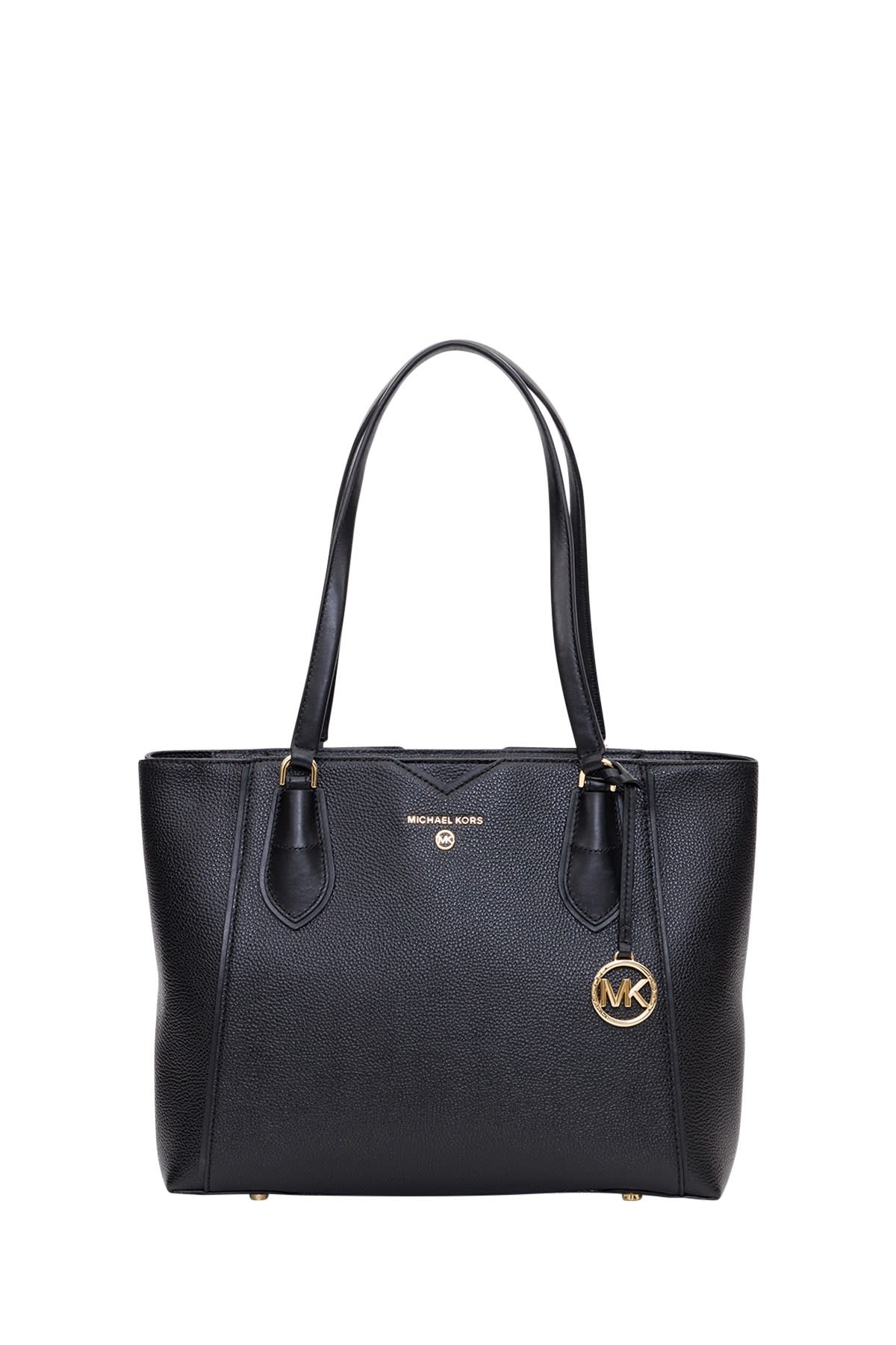 MICHAEL Michael Kors Mae Leather Tote Bag