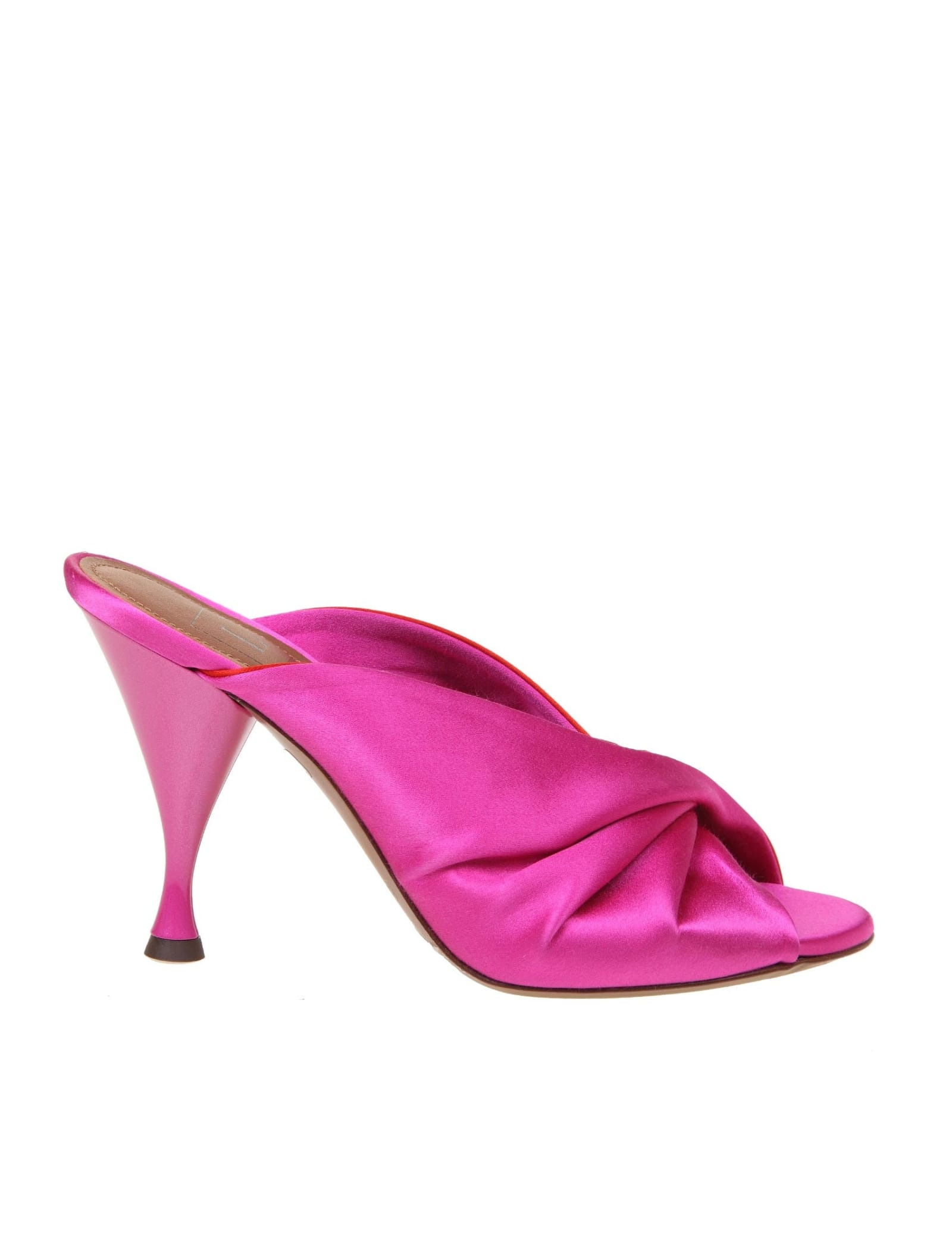 L'autre Chose MULES IN SATIN