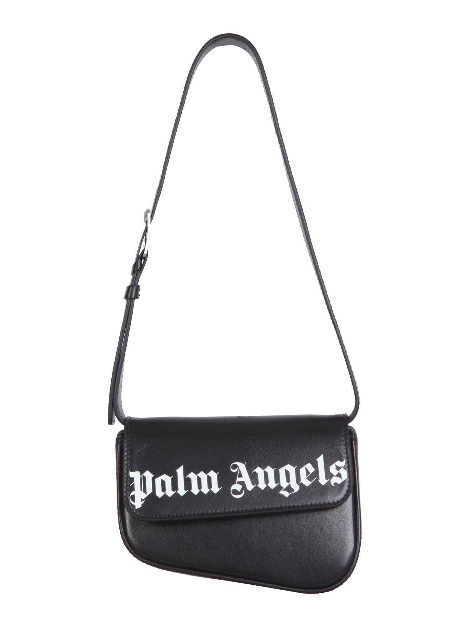 Palm Angels Crash Leather Belt Bag